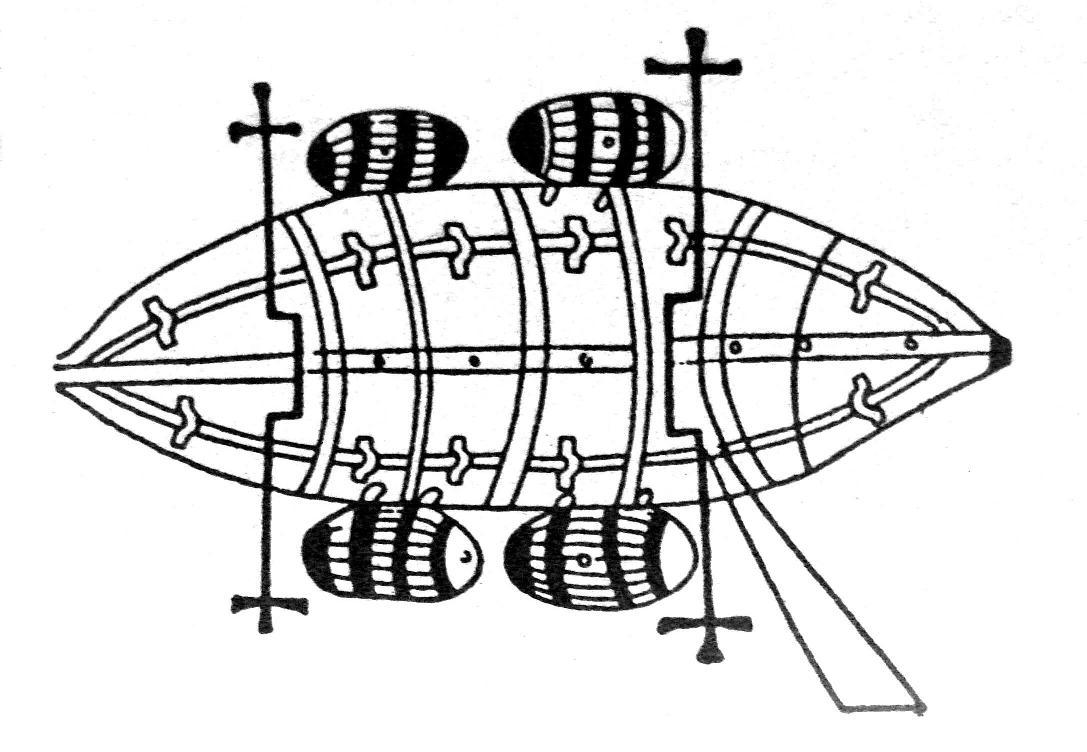 U-Boot von Guido da Vigevano (14. Jahrhundert)