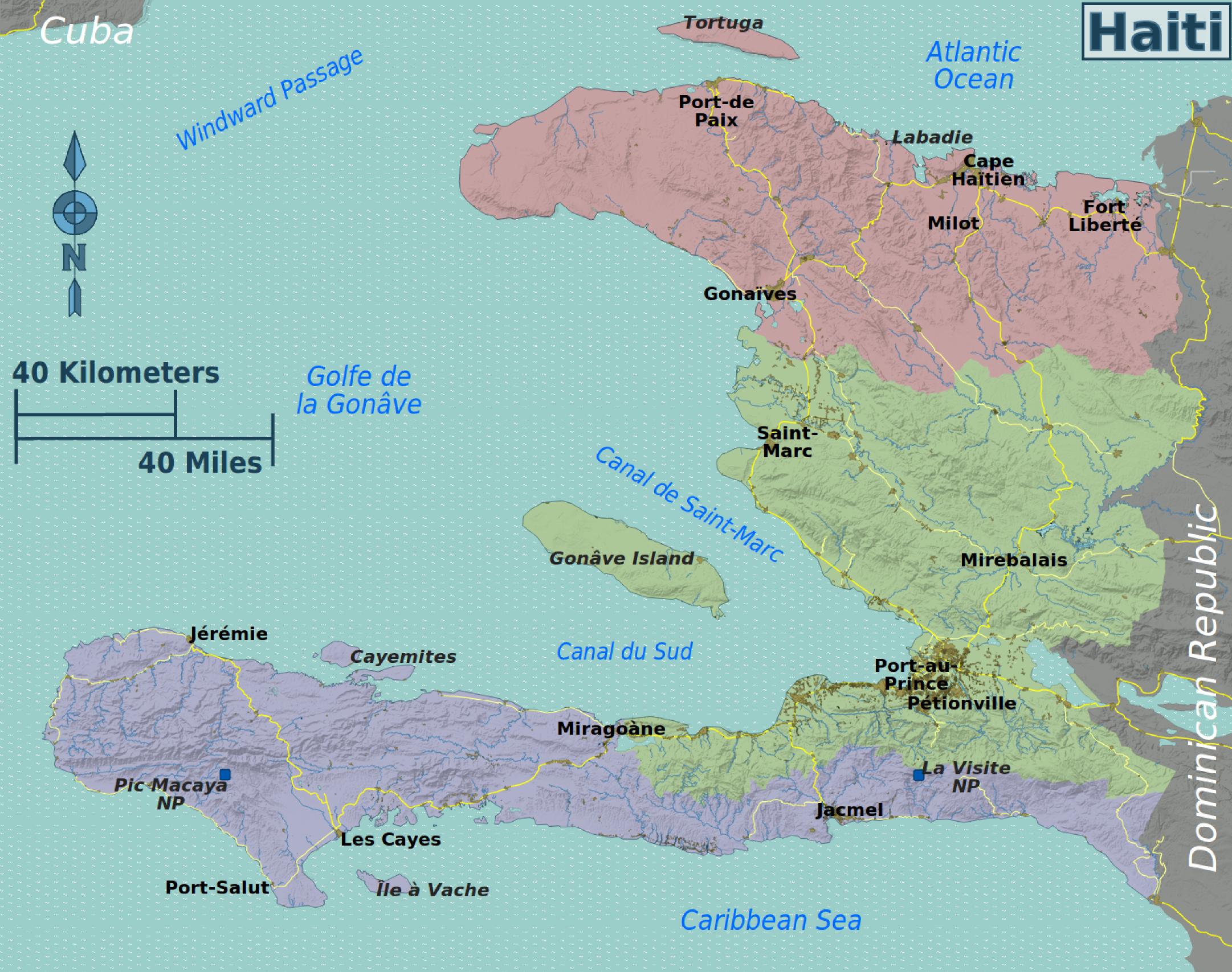 FileHaiti Regions Mappng Wikimedia Commons - Haiti regions map
