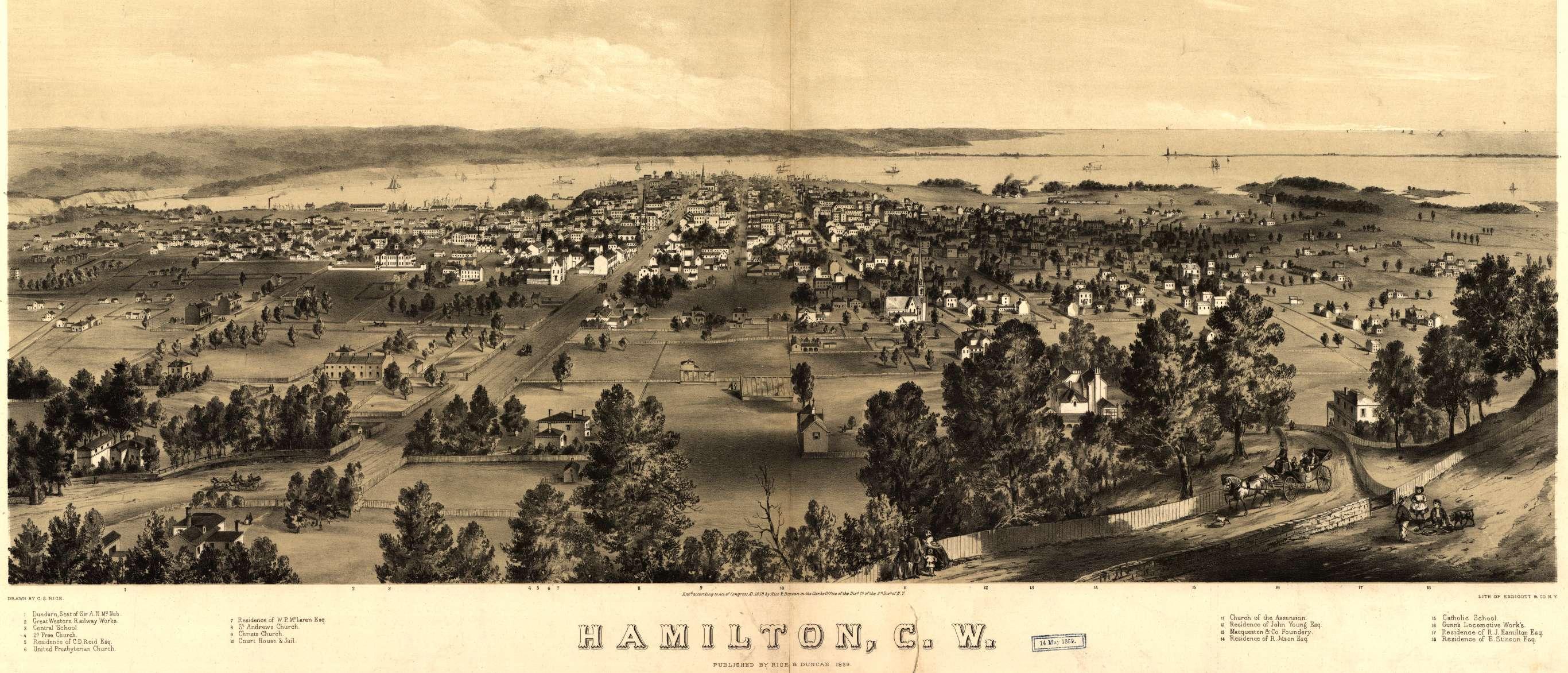 History of Hamilton Ontario Wikiwand