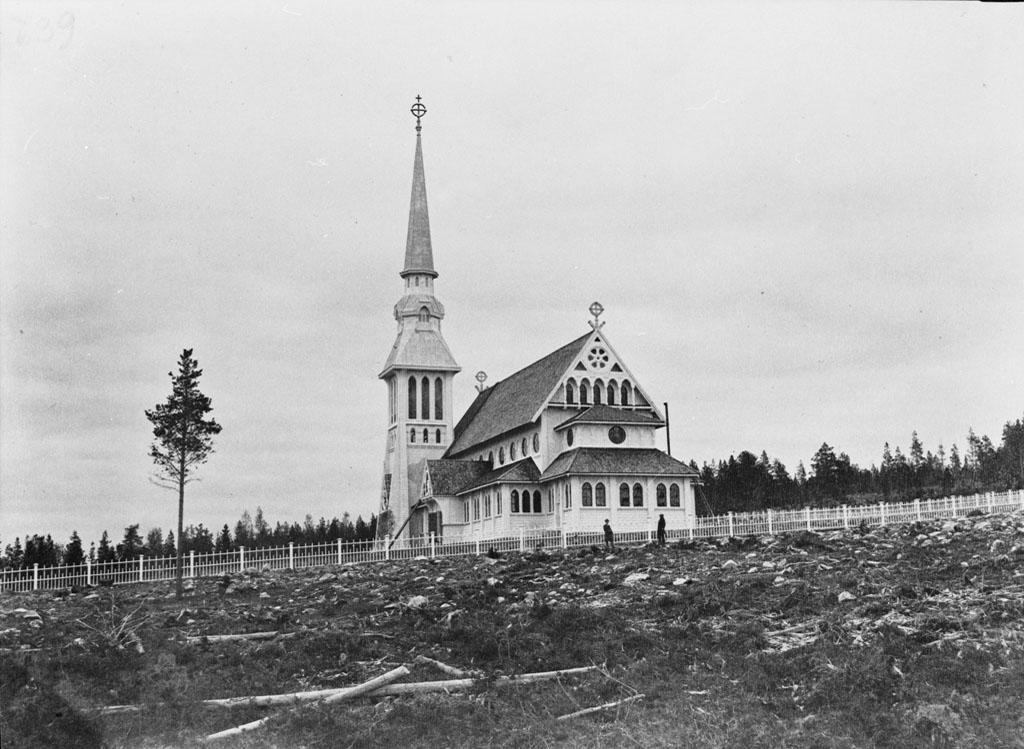 Fil:Harads Church (Edefors Old Church), Norrbotten, Sweden