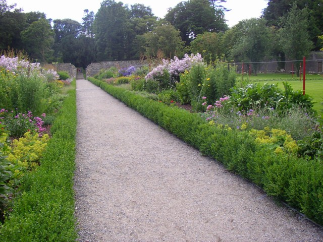 File:Herbaceous borders, Woodstock, Inistioge, Co. Kilkenny - geograph.org.uk - 205298.jpg