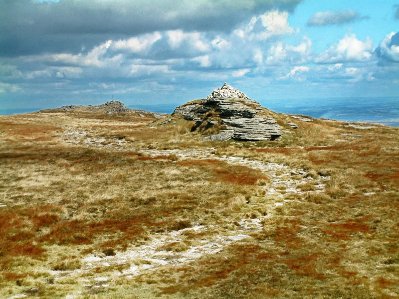 An image of High Willhays, the highest point on Dartmoor.