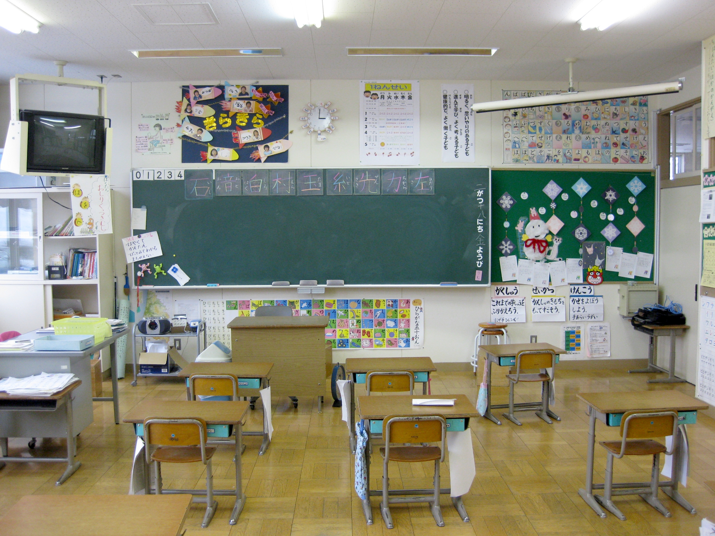 Pictures Of Elementary Classrooms ~ File hitane elementary school st grade classroom g