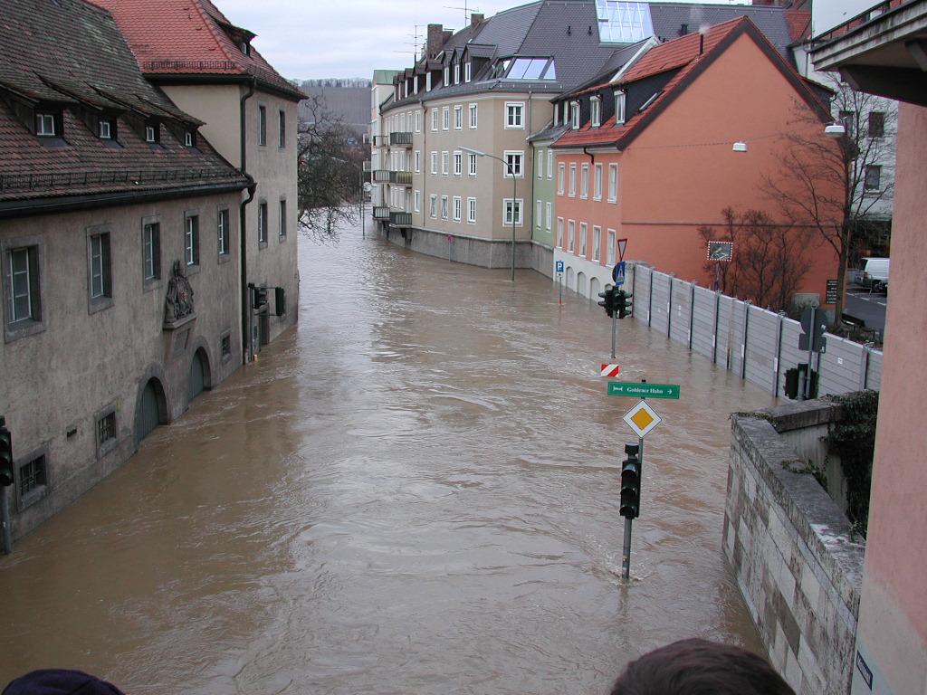überschwemmung Bayern