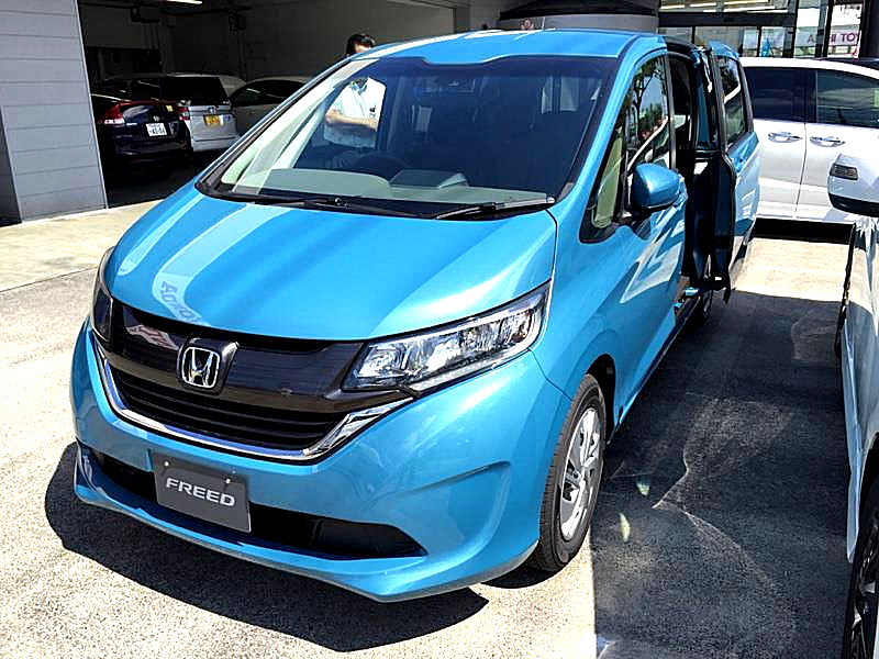 Honda Civic Hybrid >> Honda Freed - Vikipedi