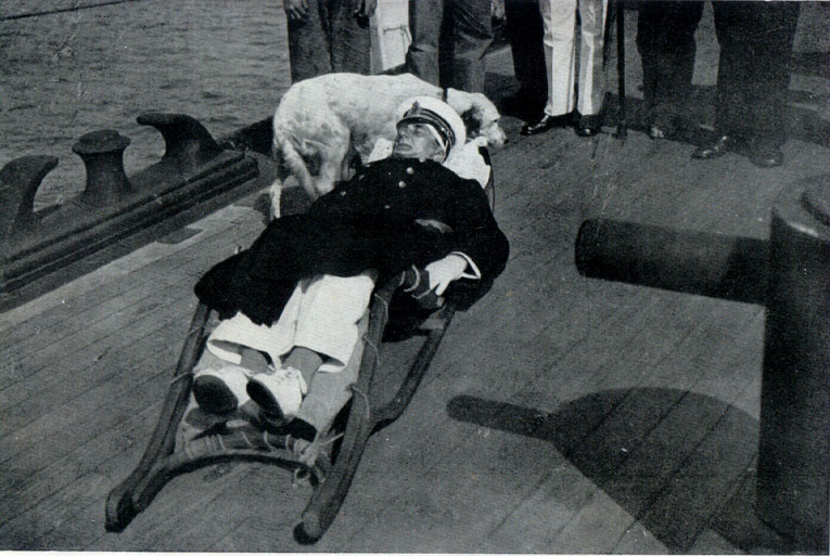Admiral Horty, badly wounded