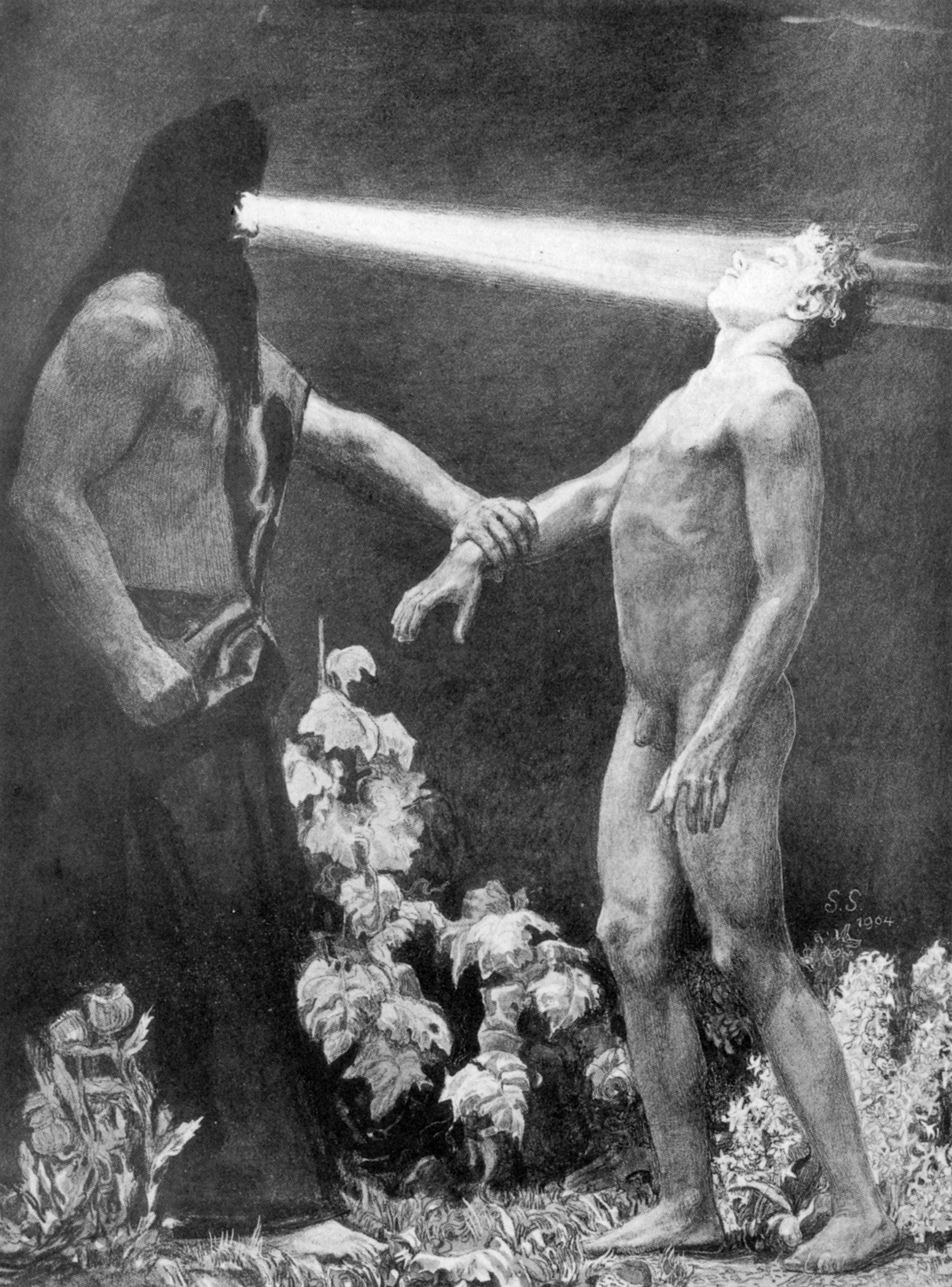 Результат пошуку зображень за запитом Sascha Schneider painting Hypnosis