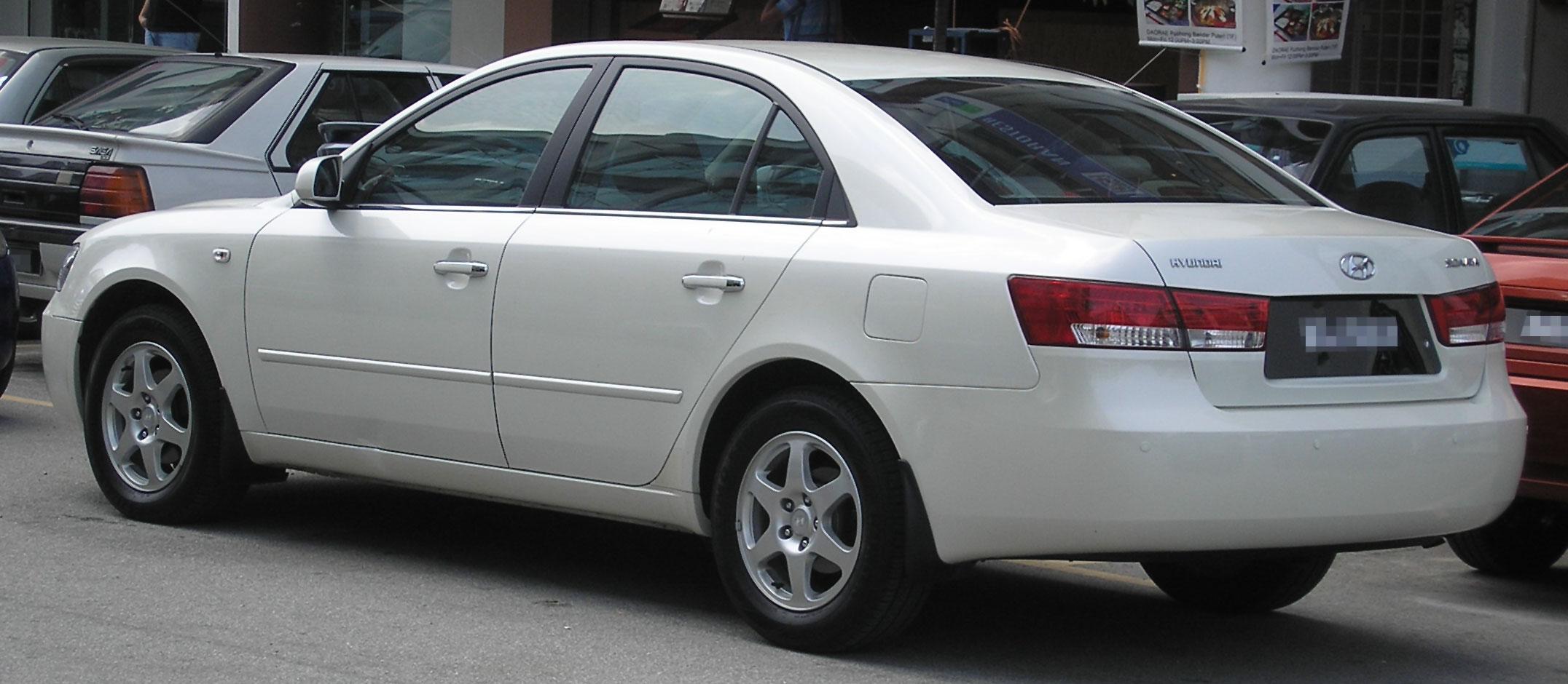 File Hyundai Sonata Fourth Generation Rear Serdang