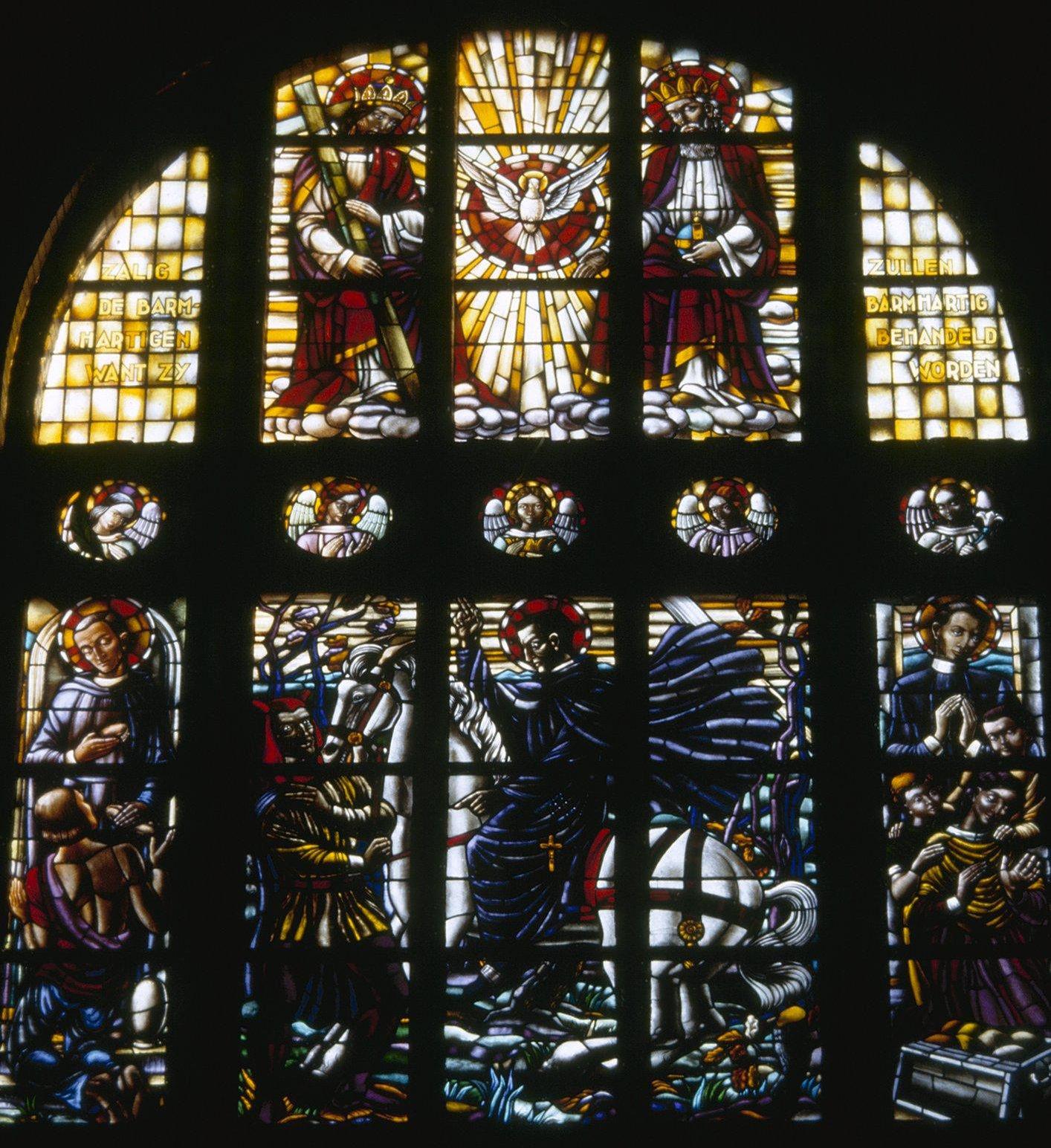File interieur overzicht glas in loodraam rotterdam for Hartman interieur rotterdam
