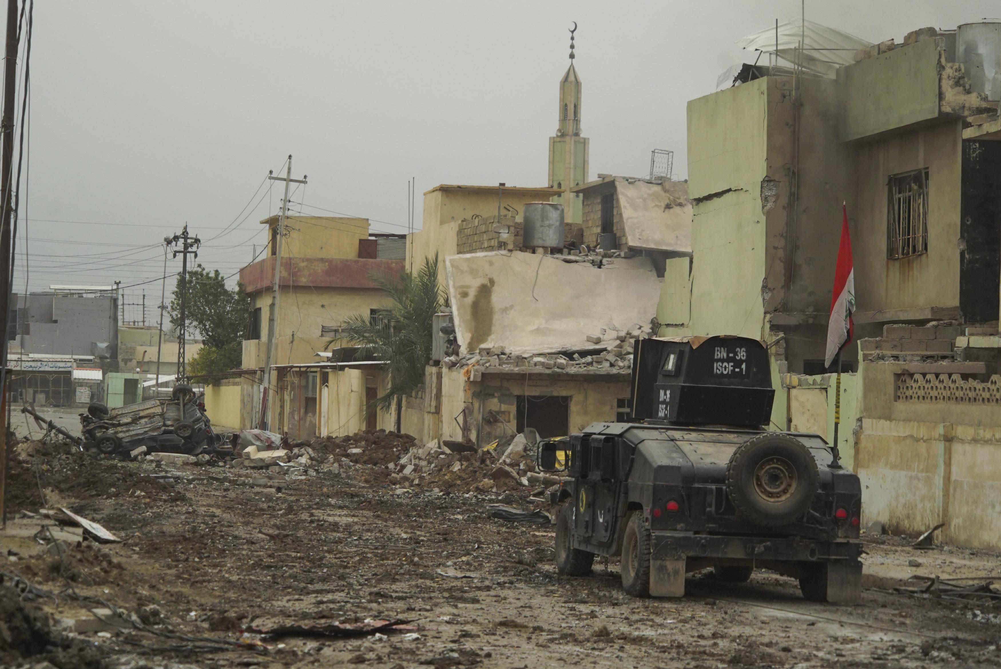 File:ISOF APC on the street of Mosul, Northern Iraq, Western Asia. 16 November, 2016.jpg ...
