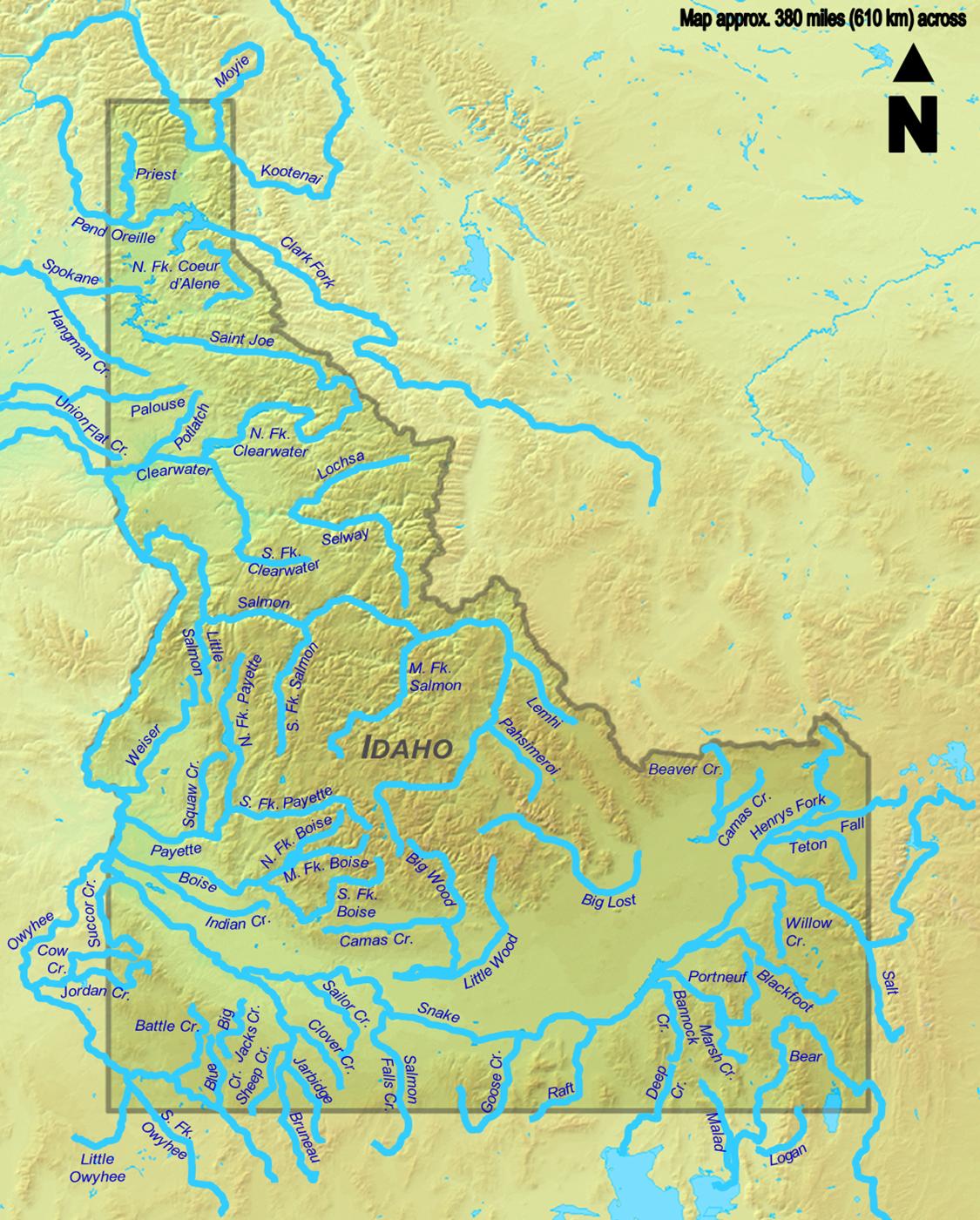 File:Idaho Rivers.png   Wikimedia Commons