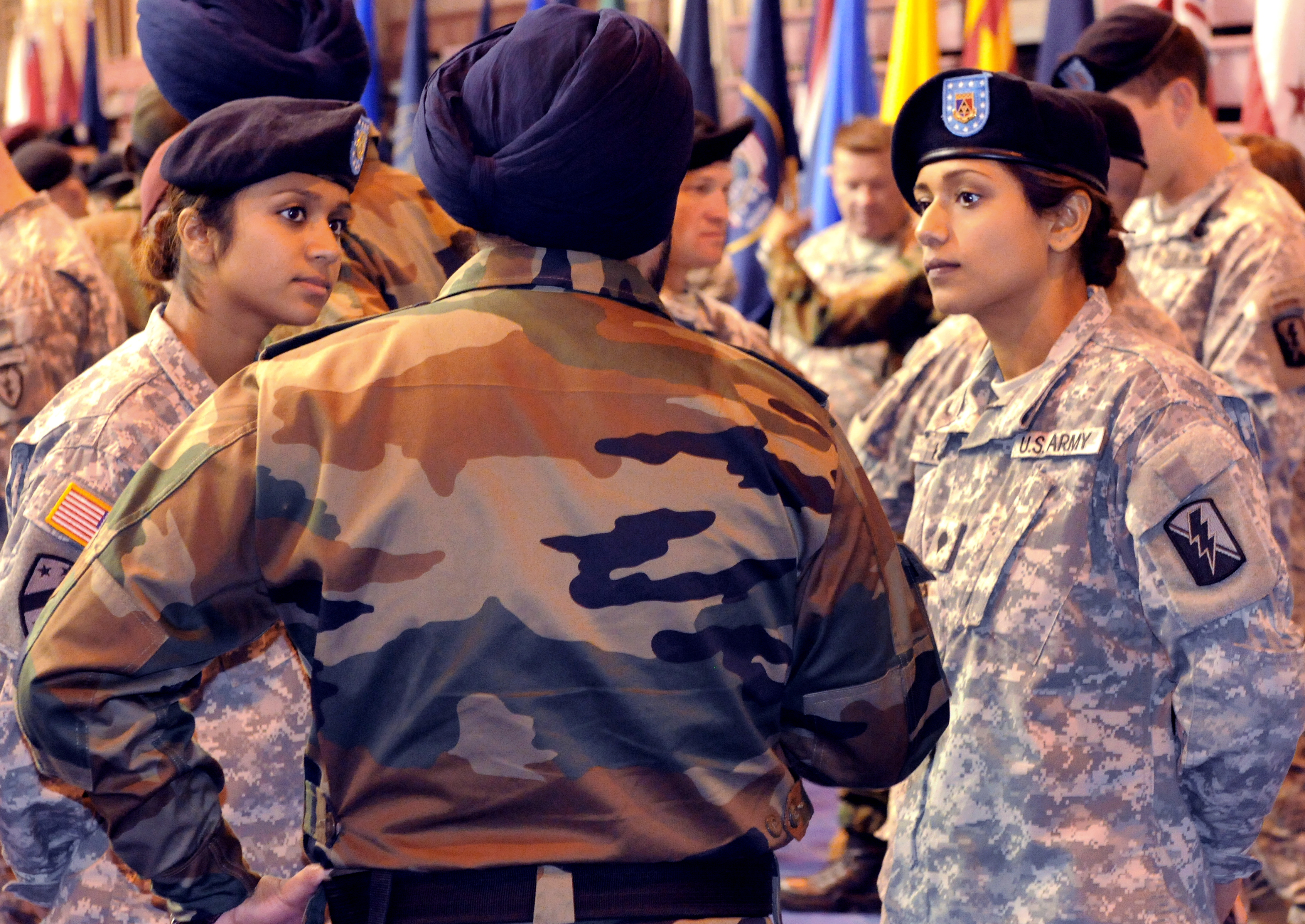 born sisters u s army cpl balreet kaur and spc jasleen file born sisters u s army cpl balreet kaur and spc jasleen kaur compare common courtesies of