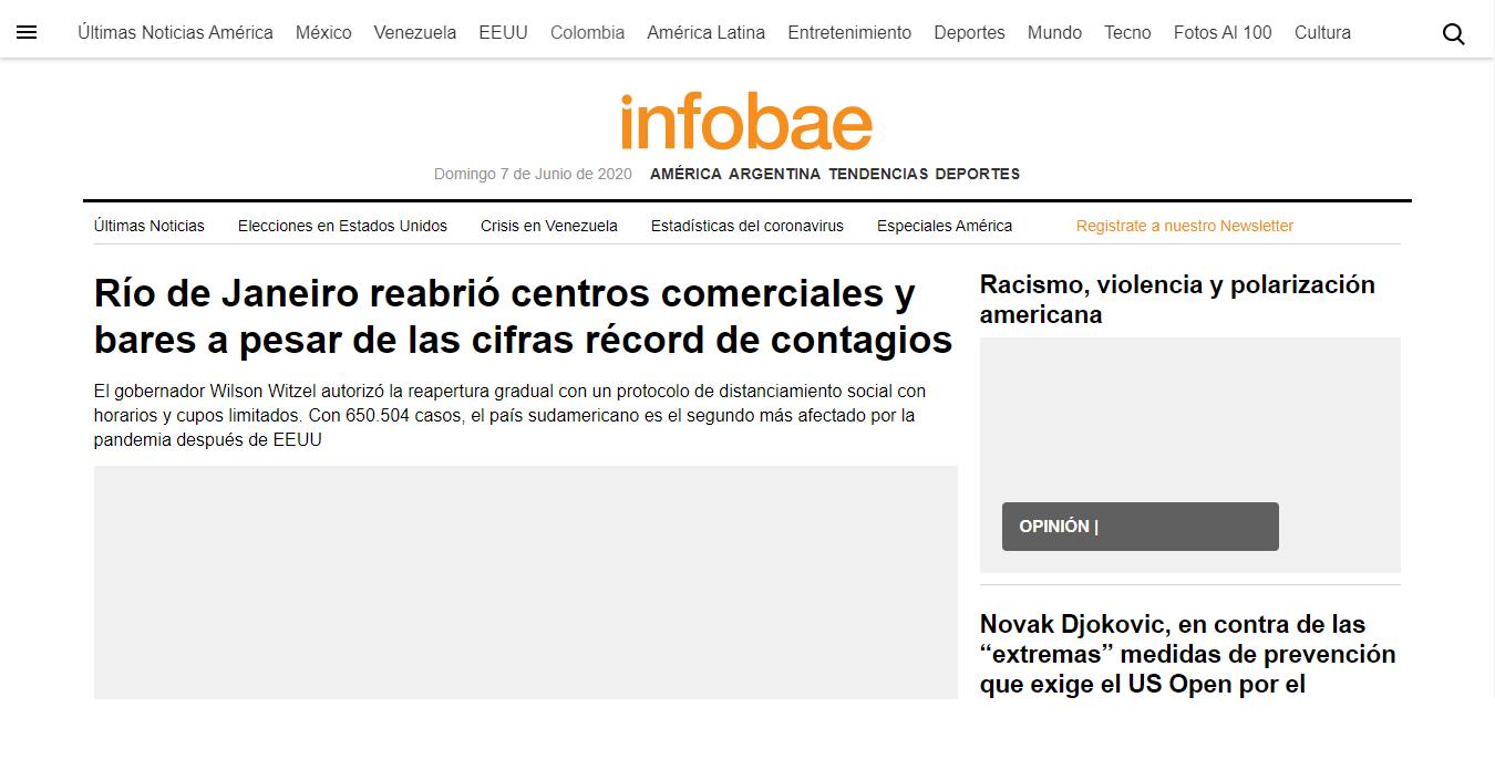 Infobae Wikipedia Escritor, periodista y conductor de televisión peruano. infobae wikipedia