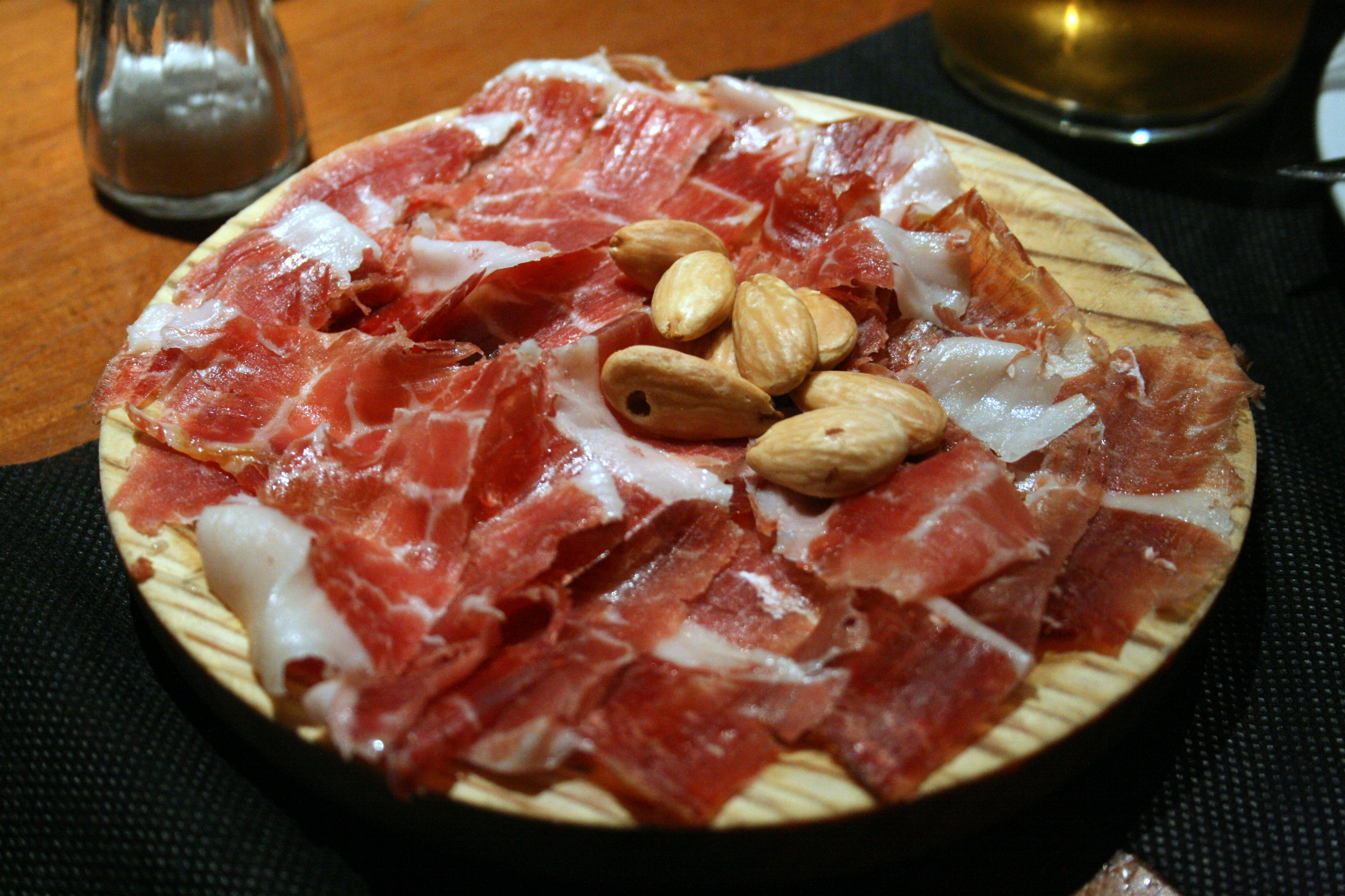 Can you take us here in spanish ham