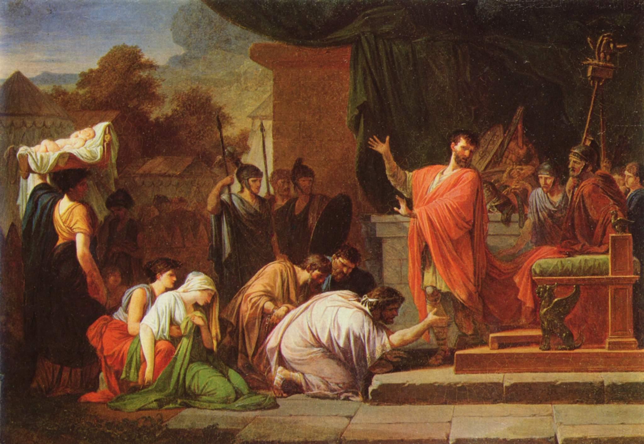 Perseus se vzdává