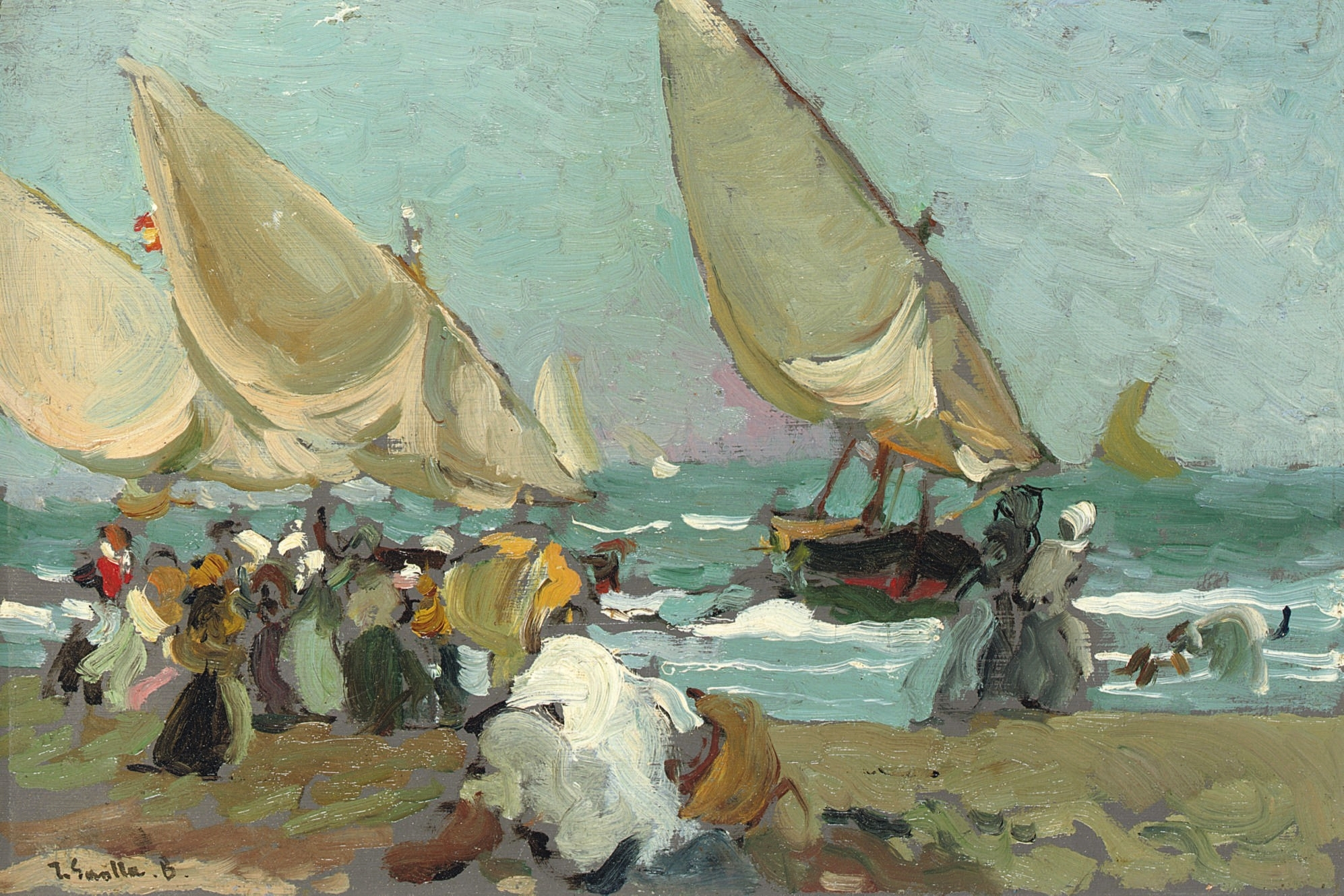 Sorolla S Painting Names
