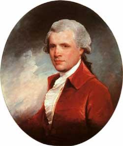 Depiction of John Singleton Copley