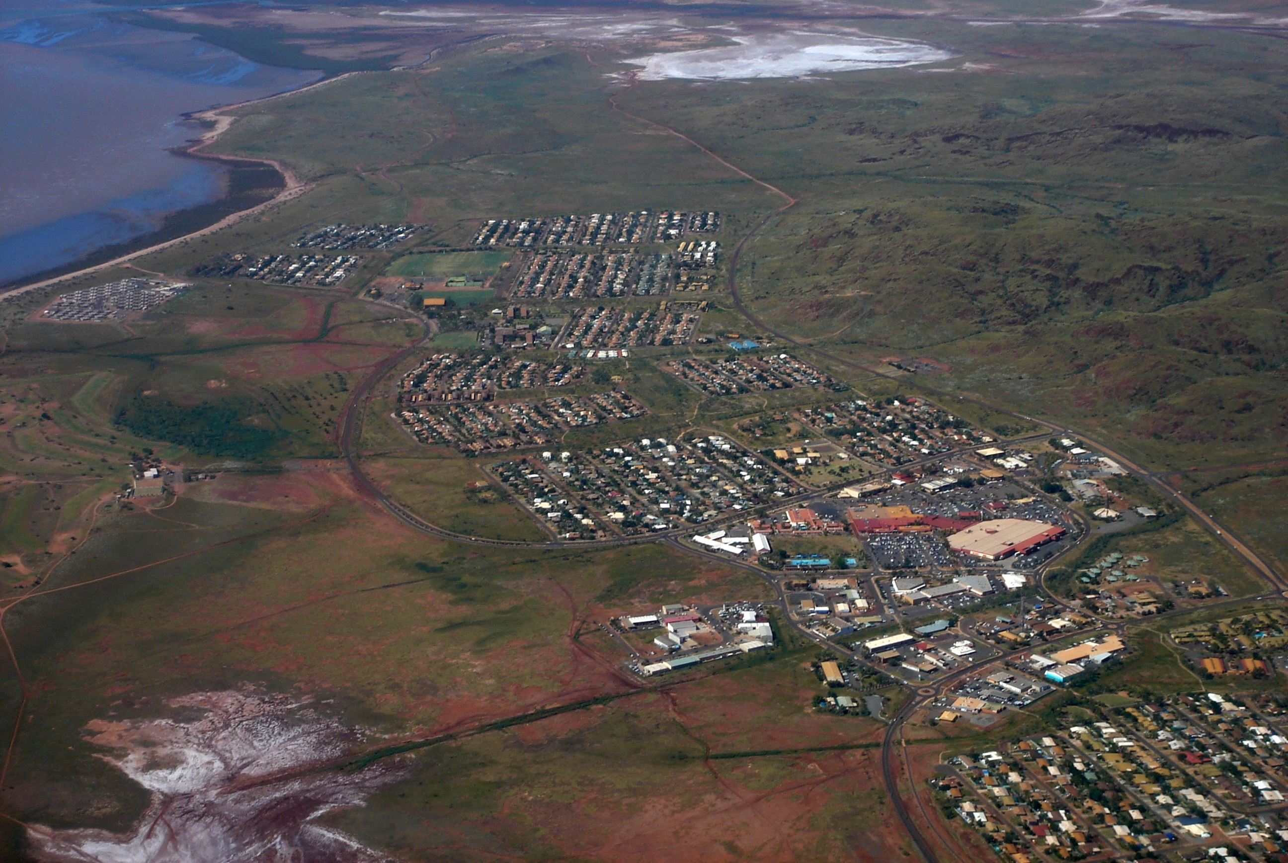 Karratha Australia  City new picture : Description Karratha Western Australia Aerial2