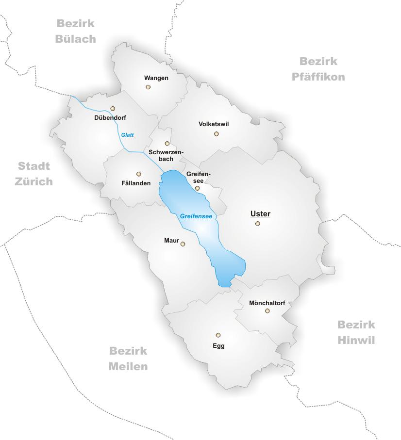 FileKarte Gemeinden des Bezirks Usterpng Wikimedia Commons