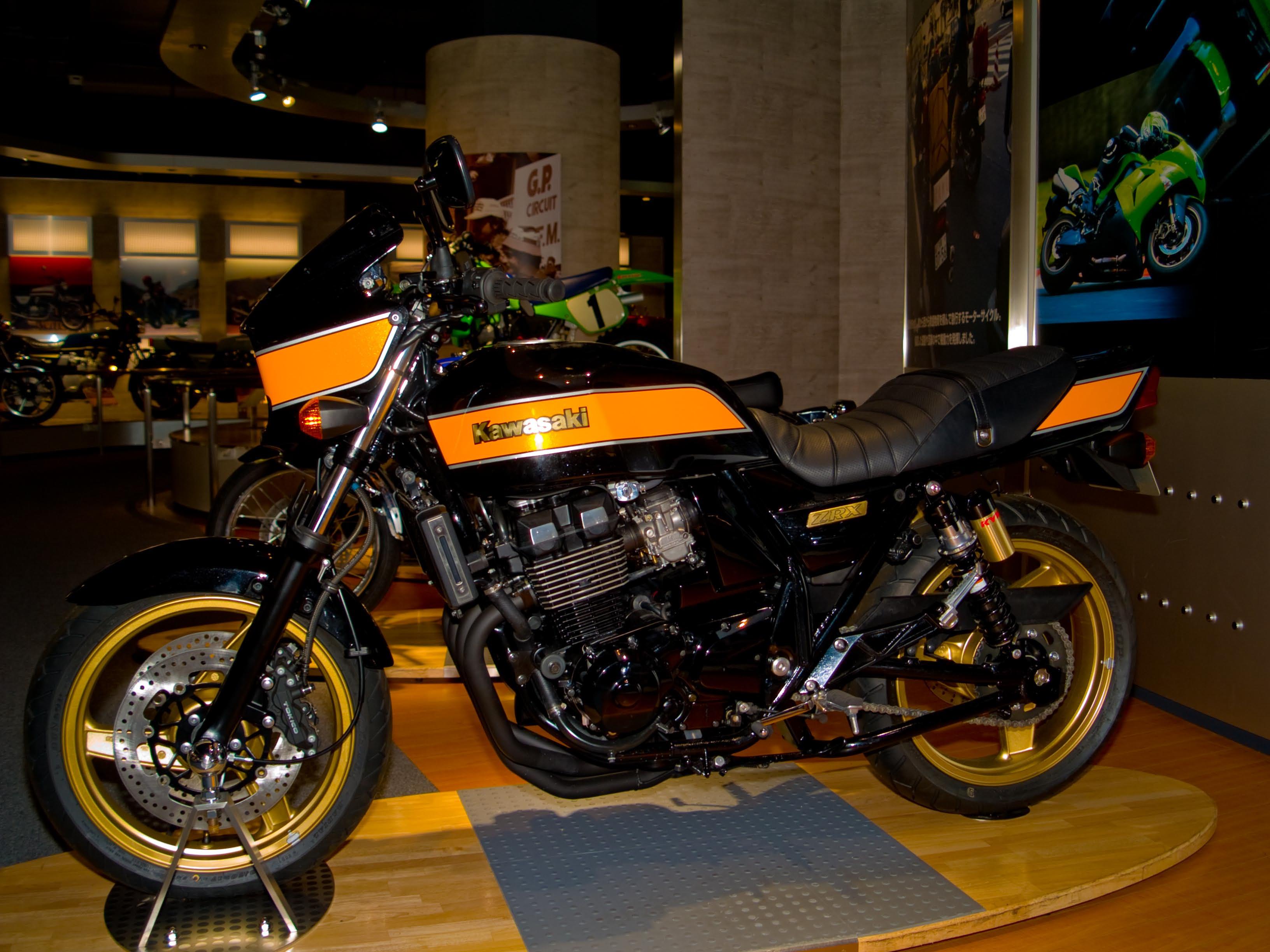 Kawasaki Zrx Cc