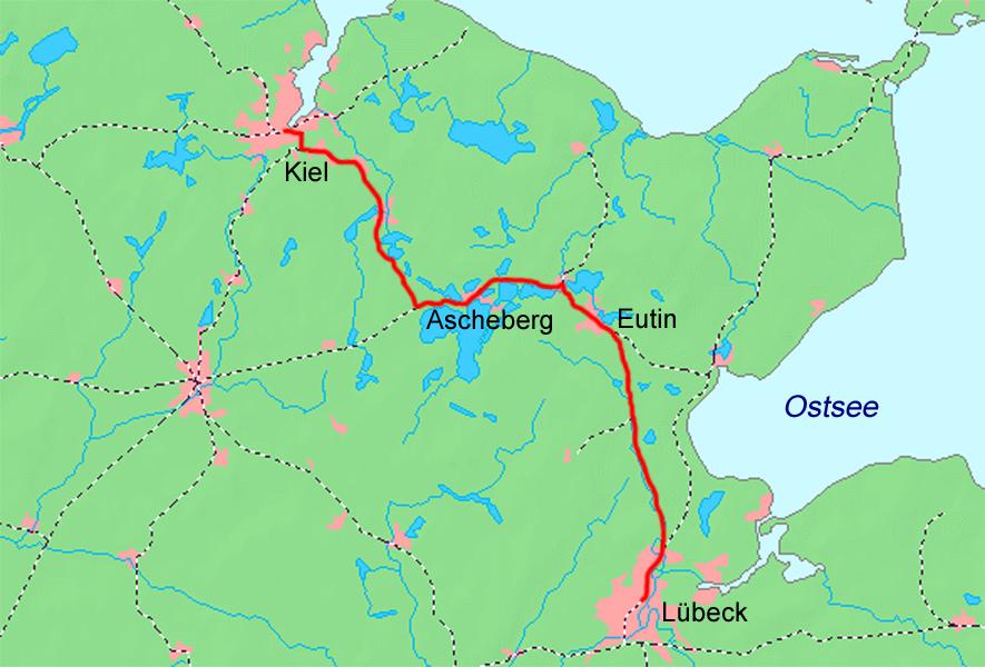 Karte Lübeck.Datei Kiel Lübeck Karte Png Wikipedia