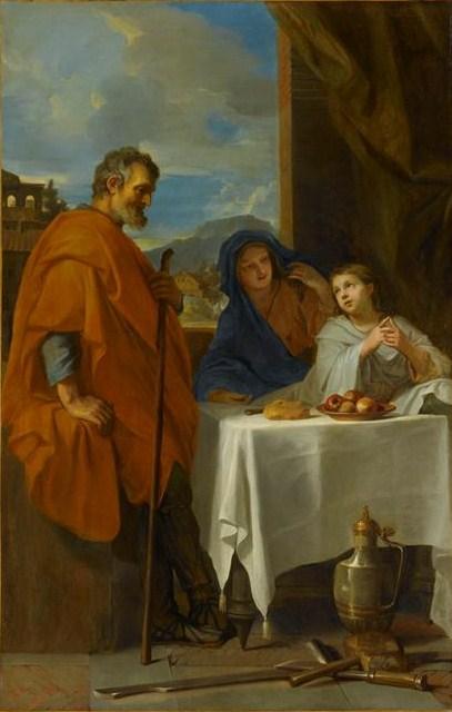 File:Le Brun Sainte famille ou Le Bénédicité.jpg
