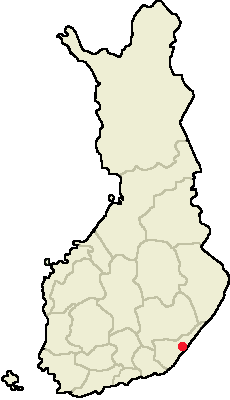 Location of Imatra in Finland.png