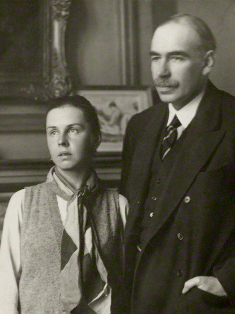 Lopokova and Keynes 1920s (cropped).jpg