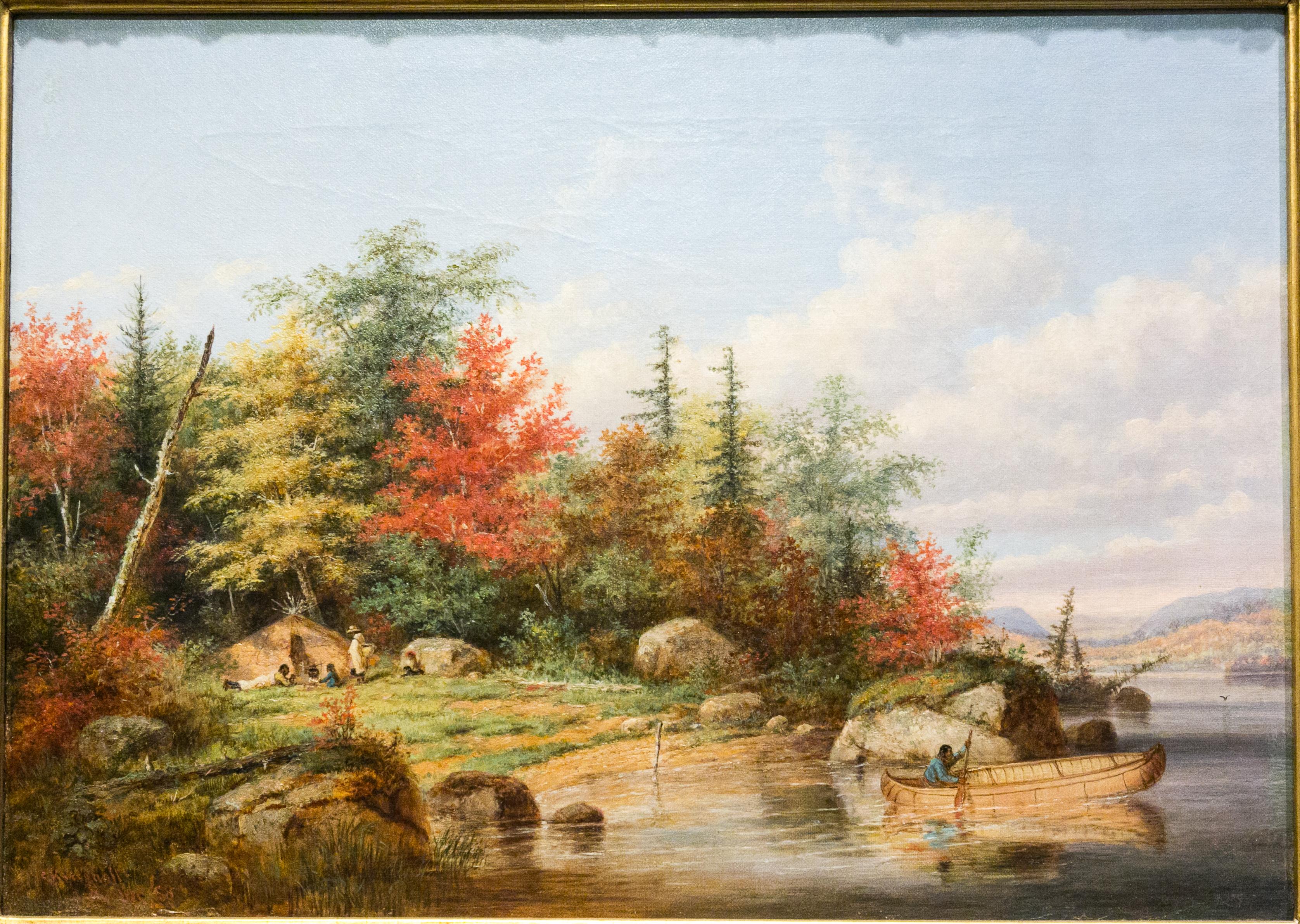 foto de File:MBAM Krieghoff - Paysage d'automne.jpg - Wikimedia Commons