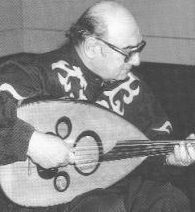 Munir Bashir, an acclaimed oud singer.