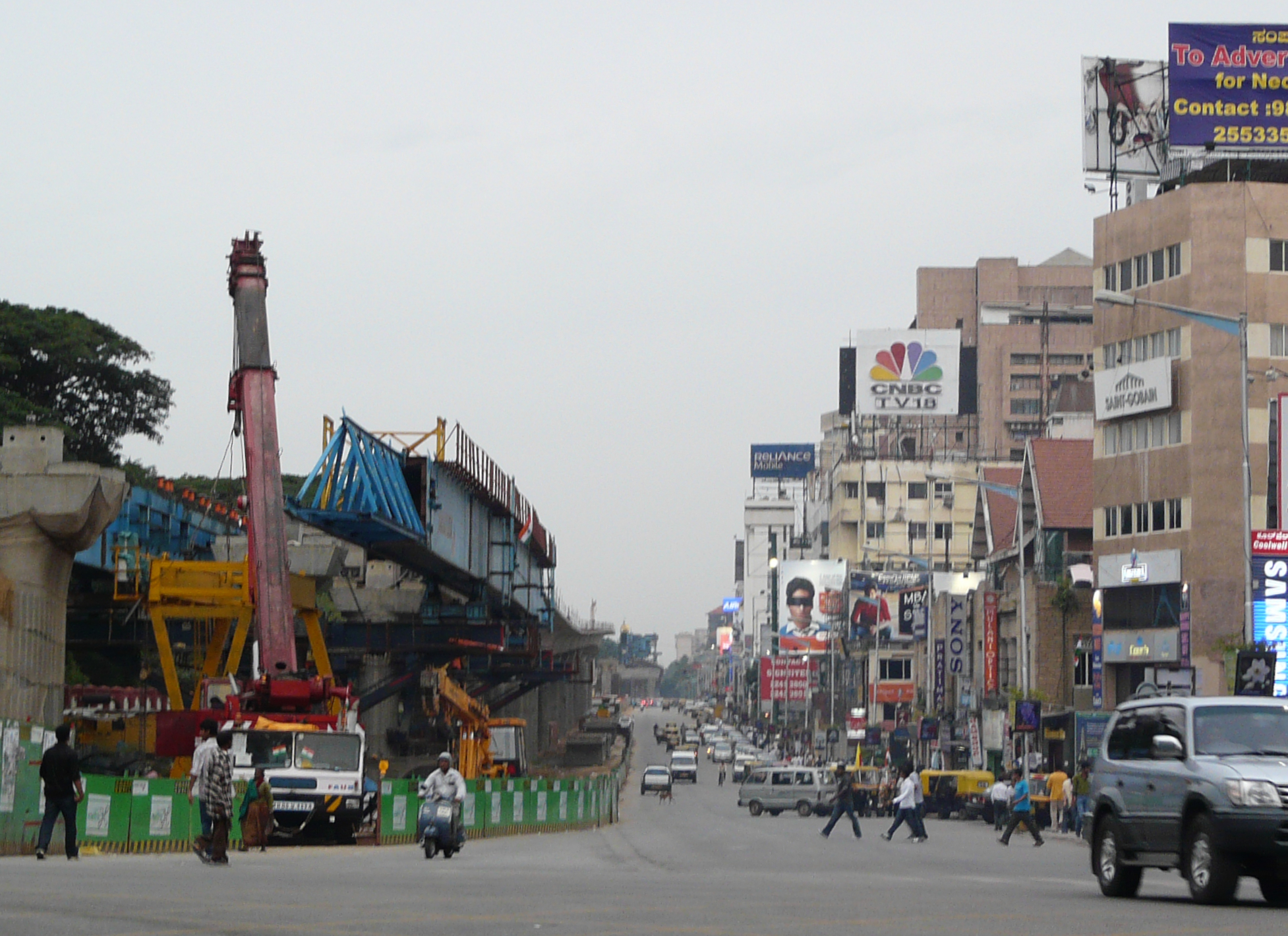 M G Road, Bangalore - Wikipedia