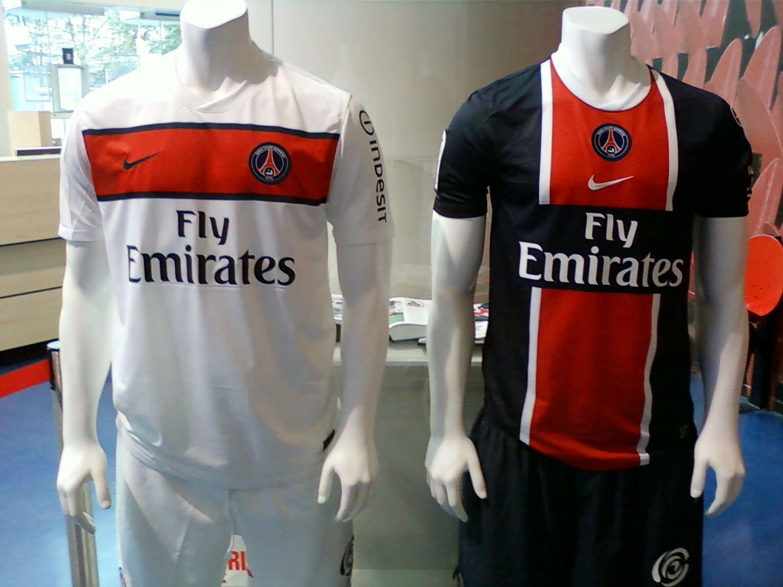 psg store maillot