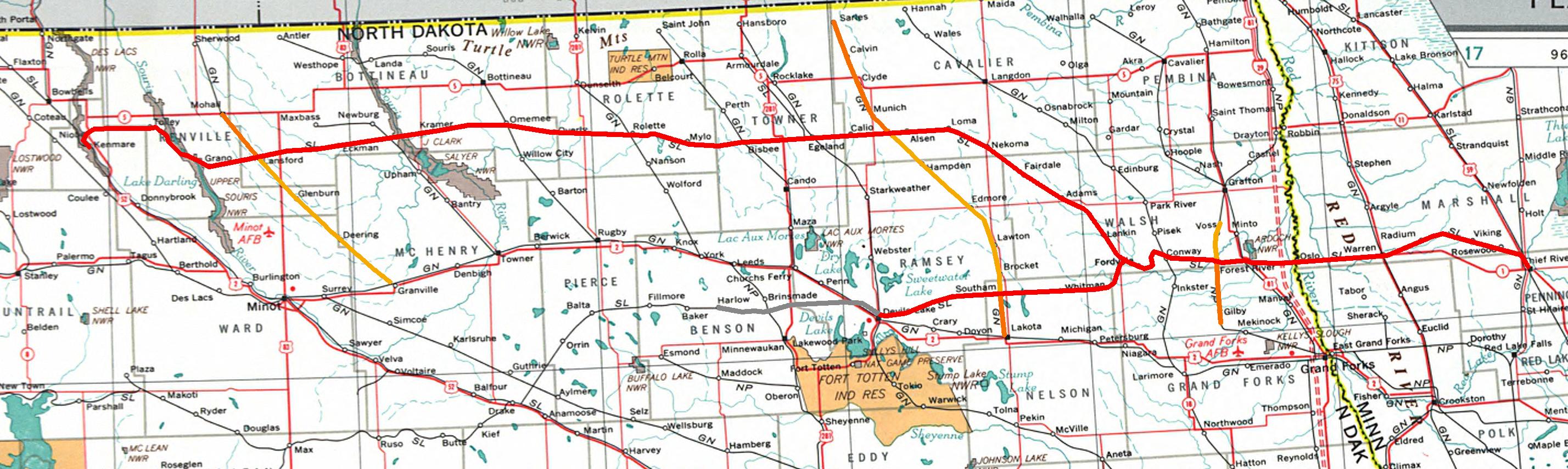 RailPictures.Net Photo: NPR 2297 Northern Plains Railroad EMD GP7 ...