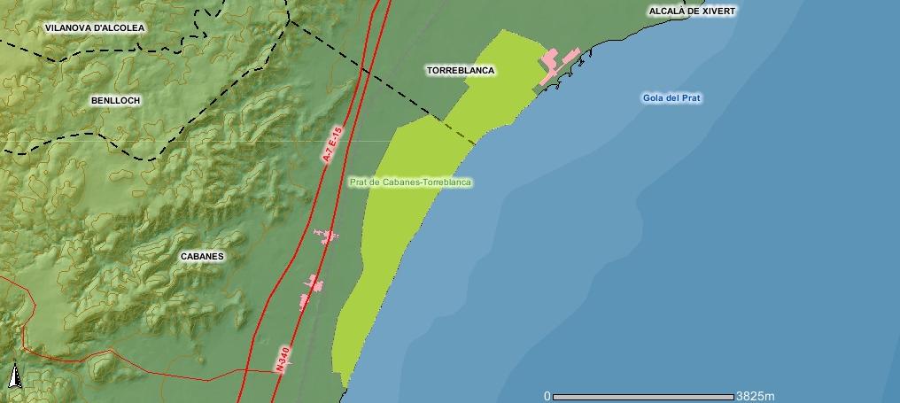 Mapas rutas y tracks gps de la categor a patrimonio - El tiempo en torreblanca castellon ...