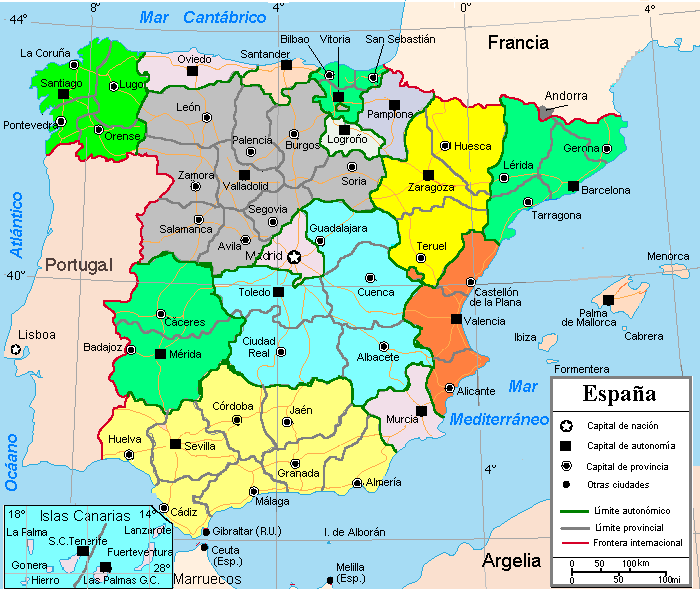 Country Of Spain Map.National And Regional Identity In Spain Wikipedia