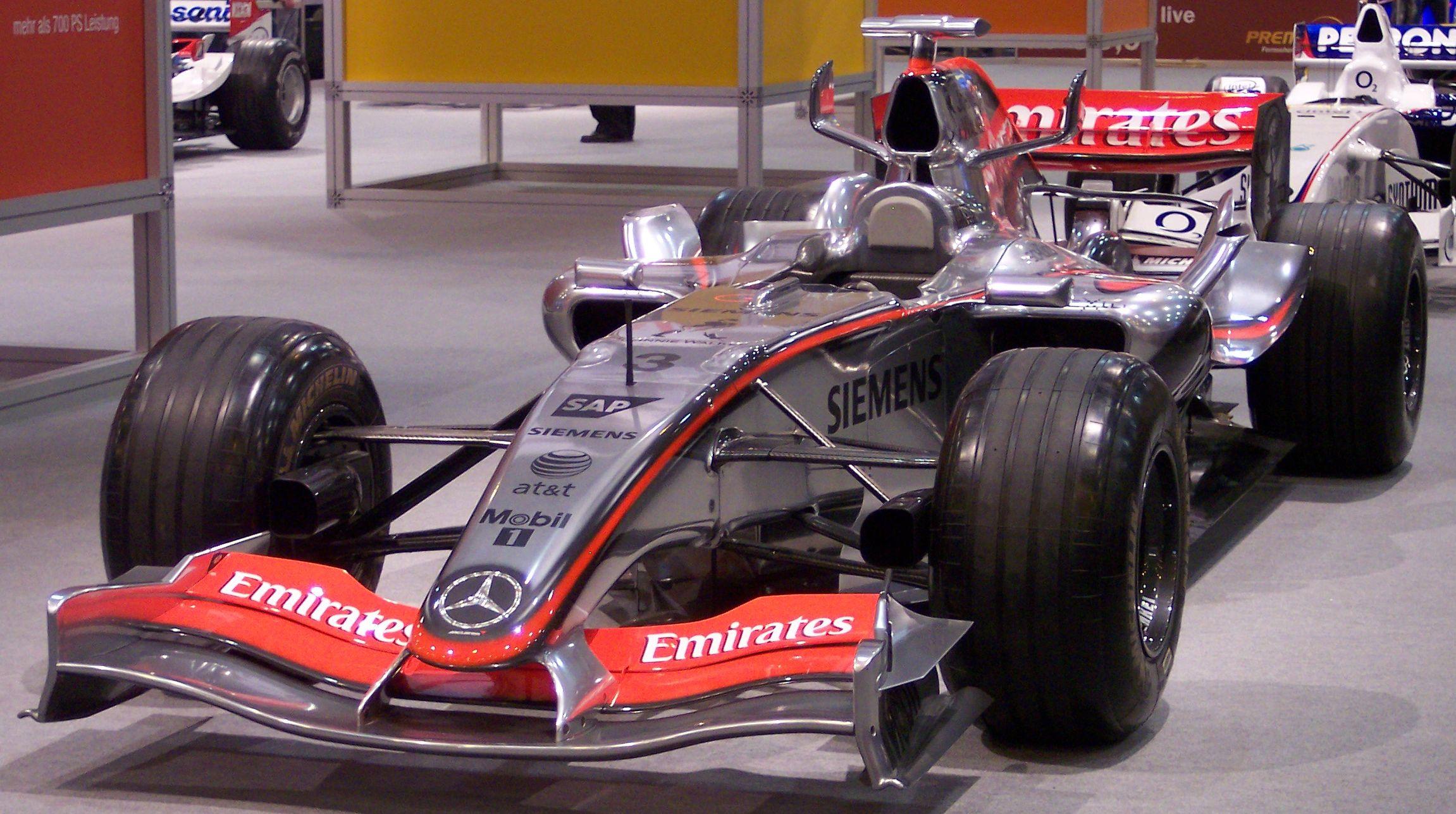 Mercedes Formula   Car