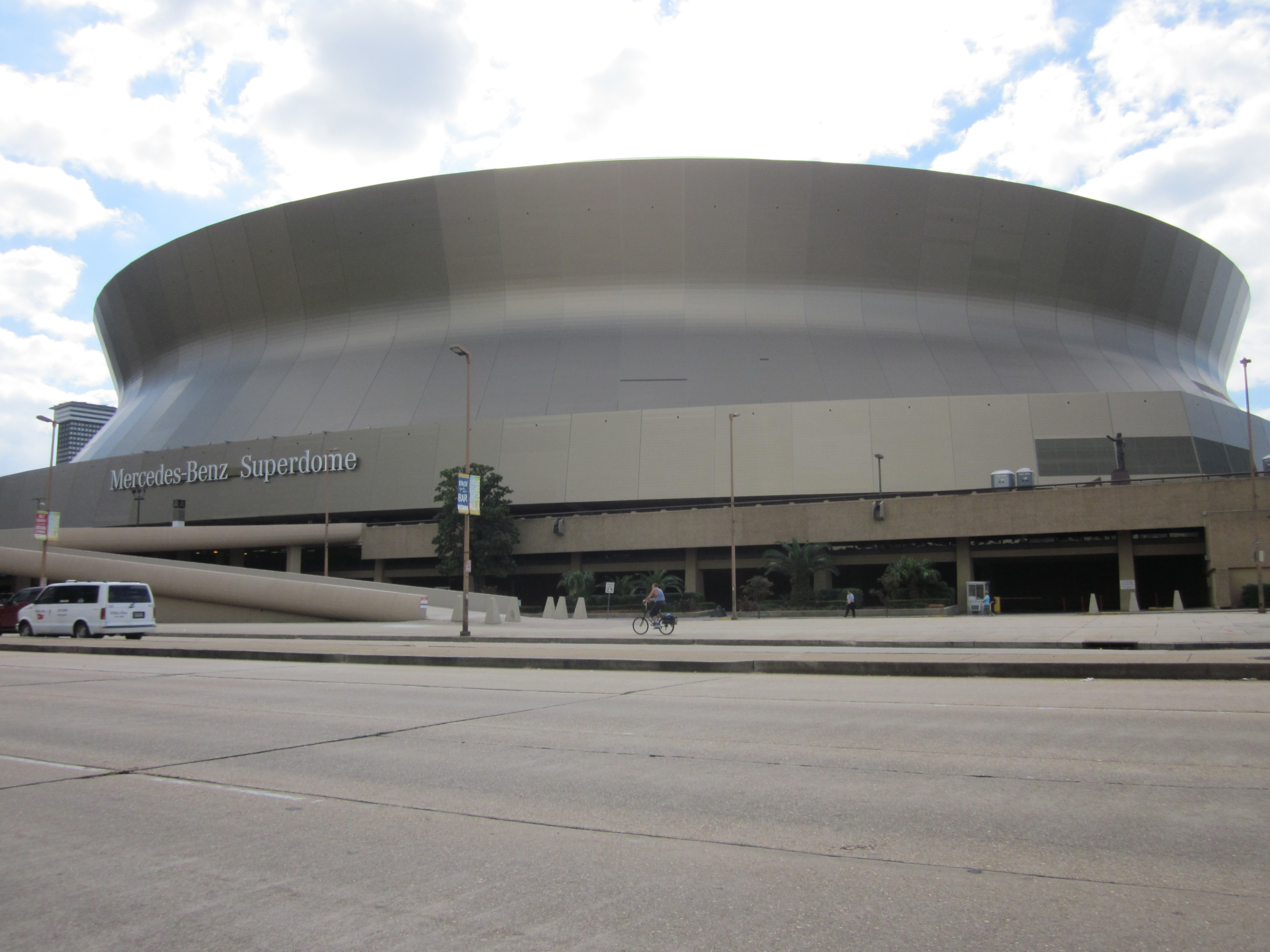 opinions on mercedes benz superdome