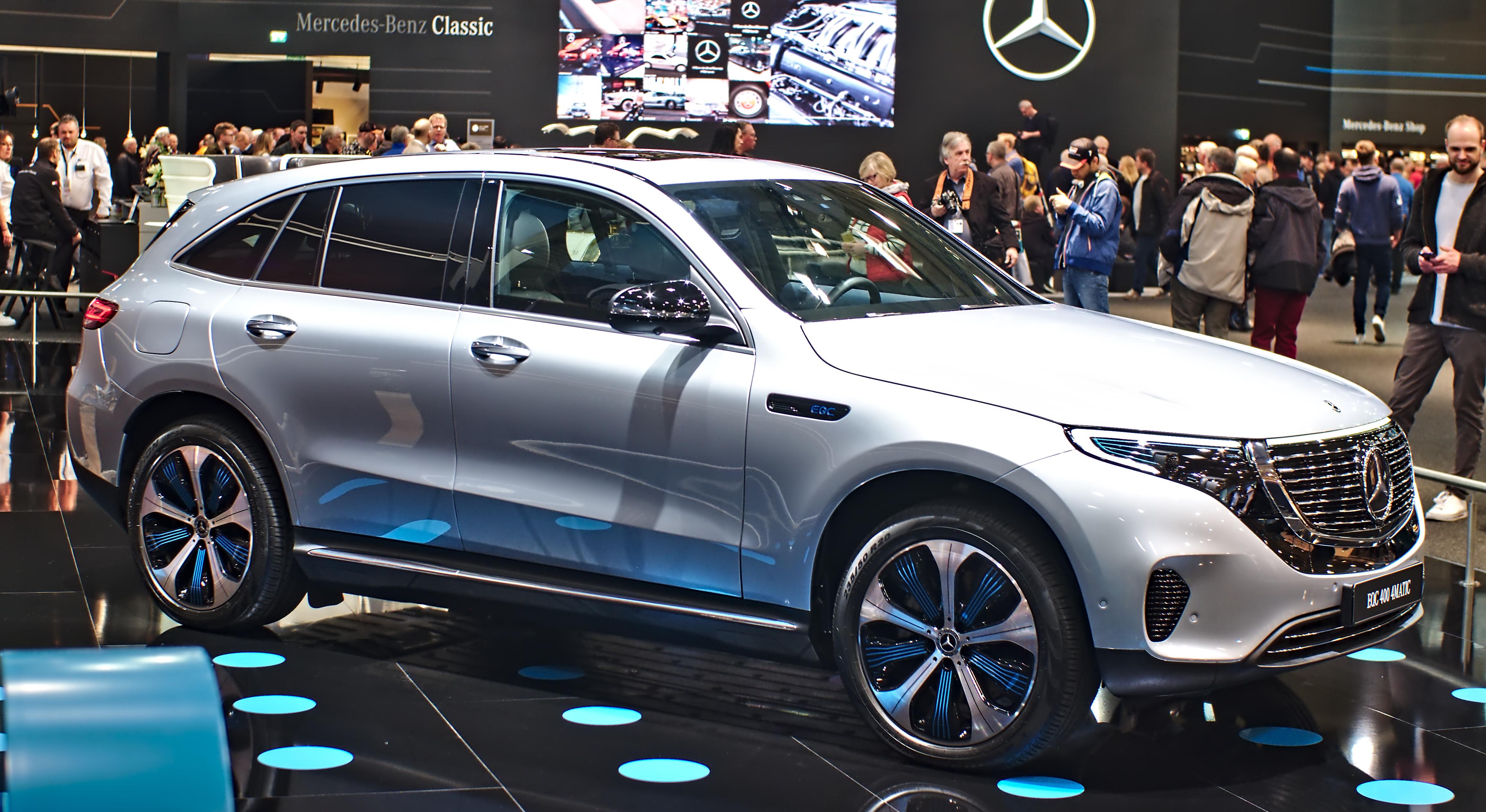 2020 Mercedes EQC: Design, Specs, Mileage, Arrival >> Mercedes Benz Eqc Wikipedia