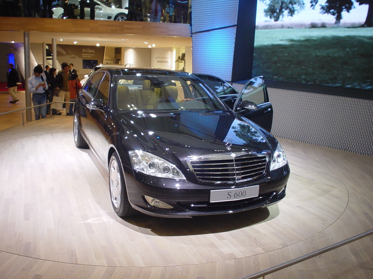 File mercedes benz s600 wikimedia commons for Mercedes benz c 600