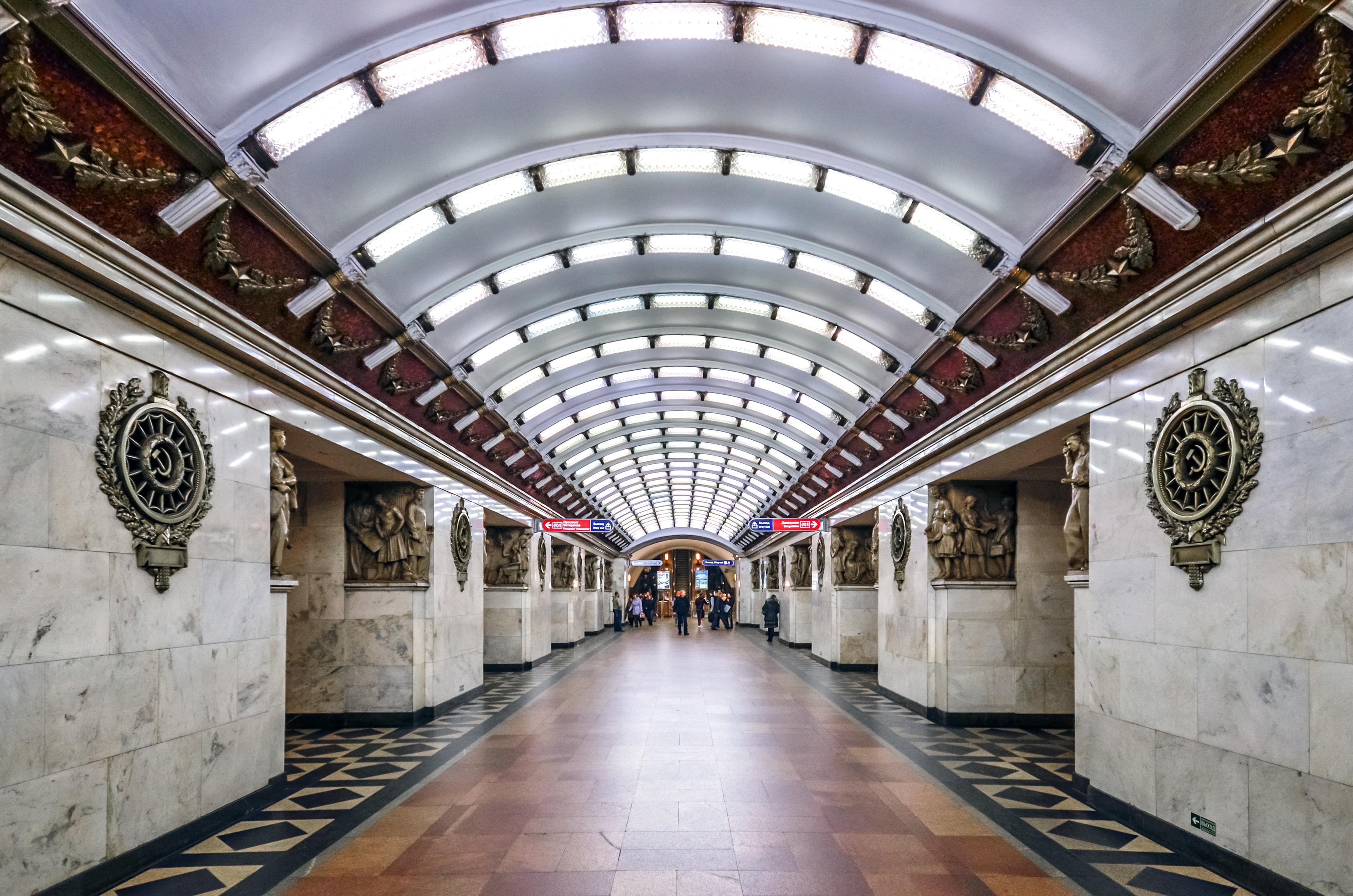 станции метро в санкт петербурге фото основание матрас стоимость