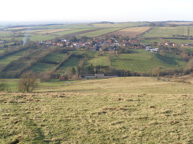 Millington from the Wolds Way