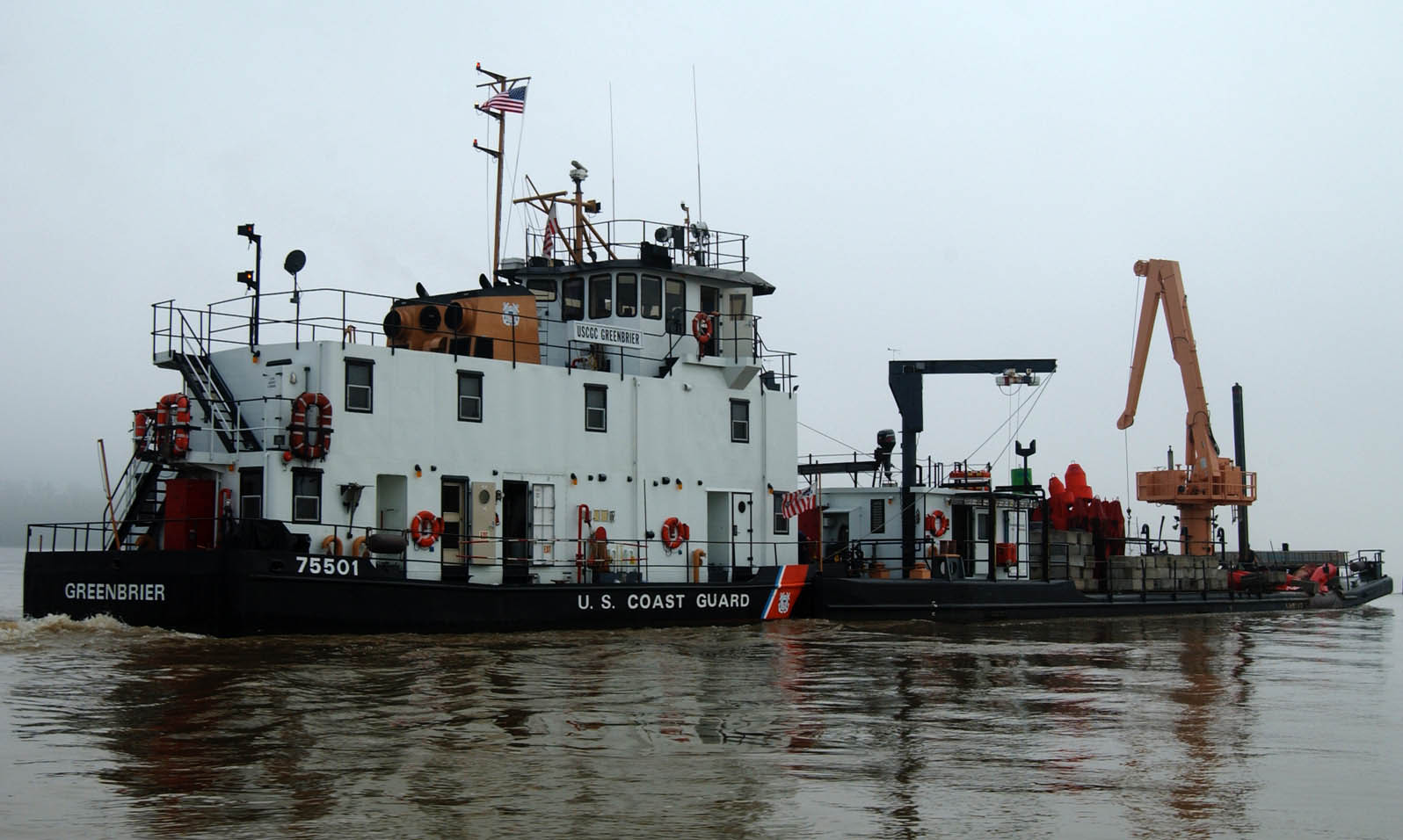 uscgc greenbrier wlr 75501 wikiwand