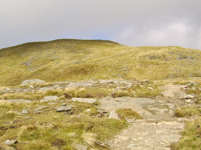 Nearing the summit of Ben Lomond - geograph.org.uk - 564035