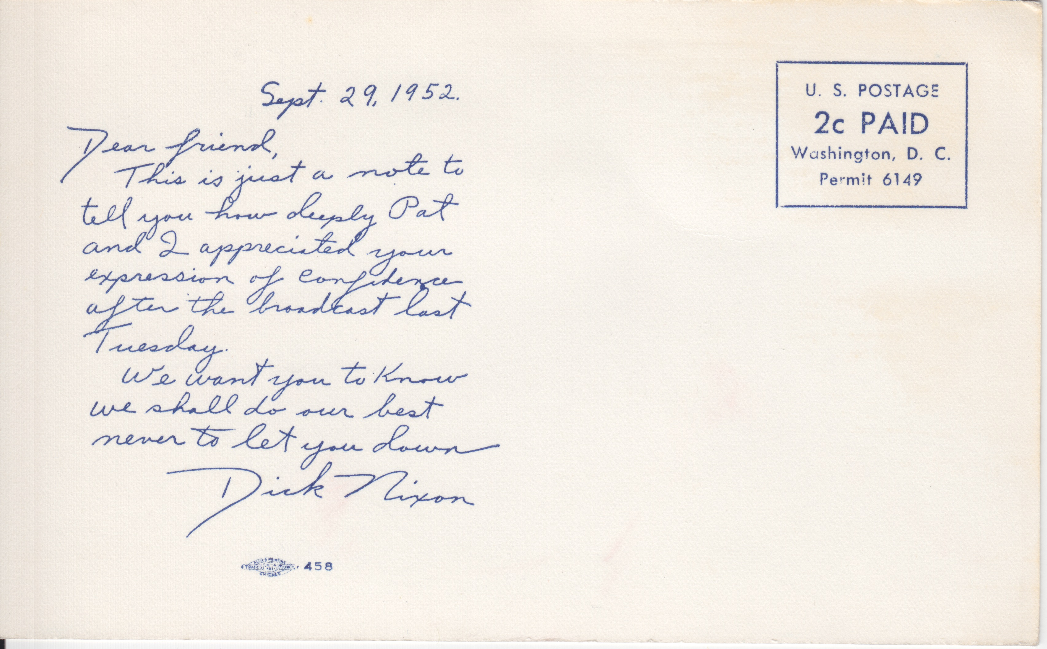 File:Nixon 1952 postcard.jpg Wikimedia Commons