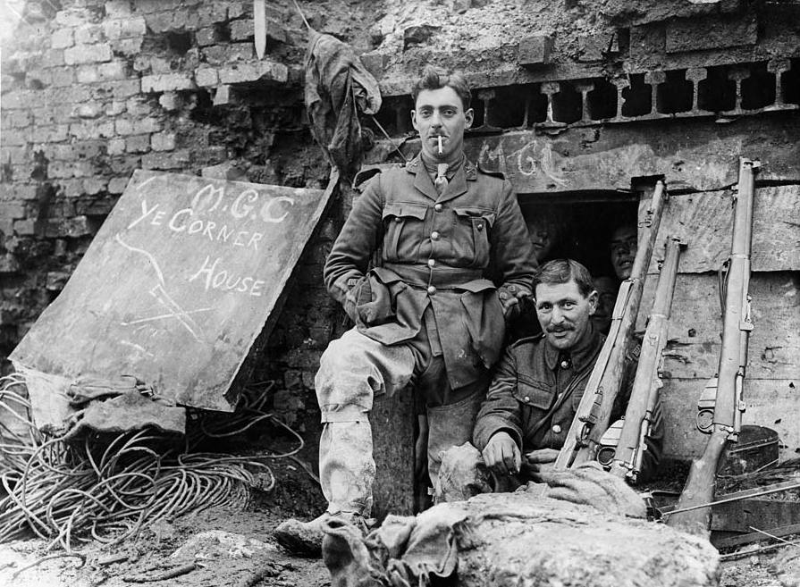 File:Outside captured German dugout (2957890049).jpg