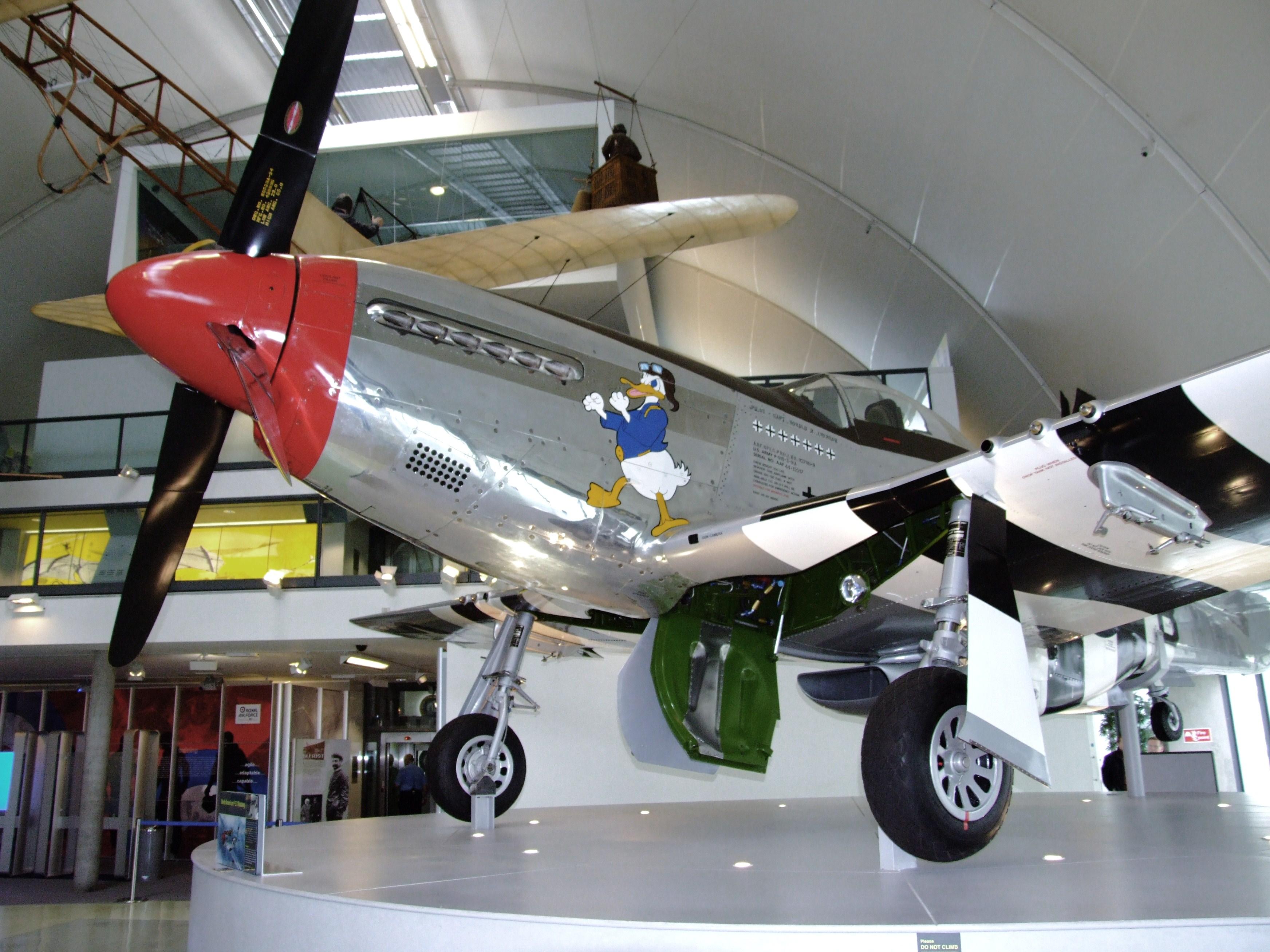 File P 51 Mustang At Raf Museum London Flickr 4607094853