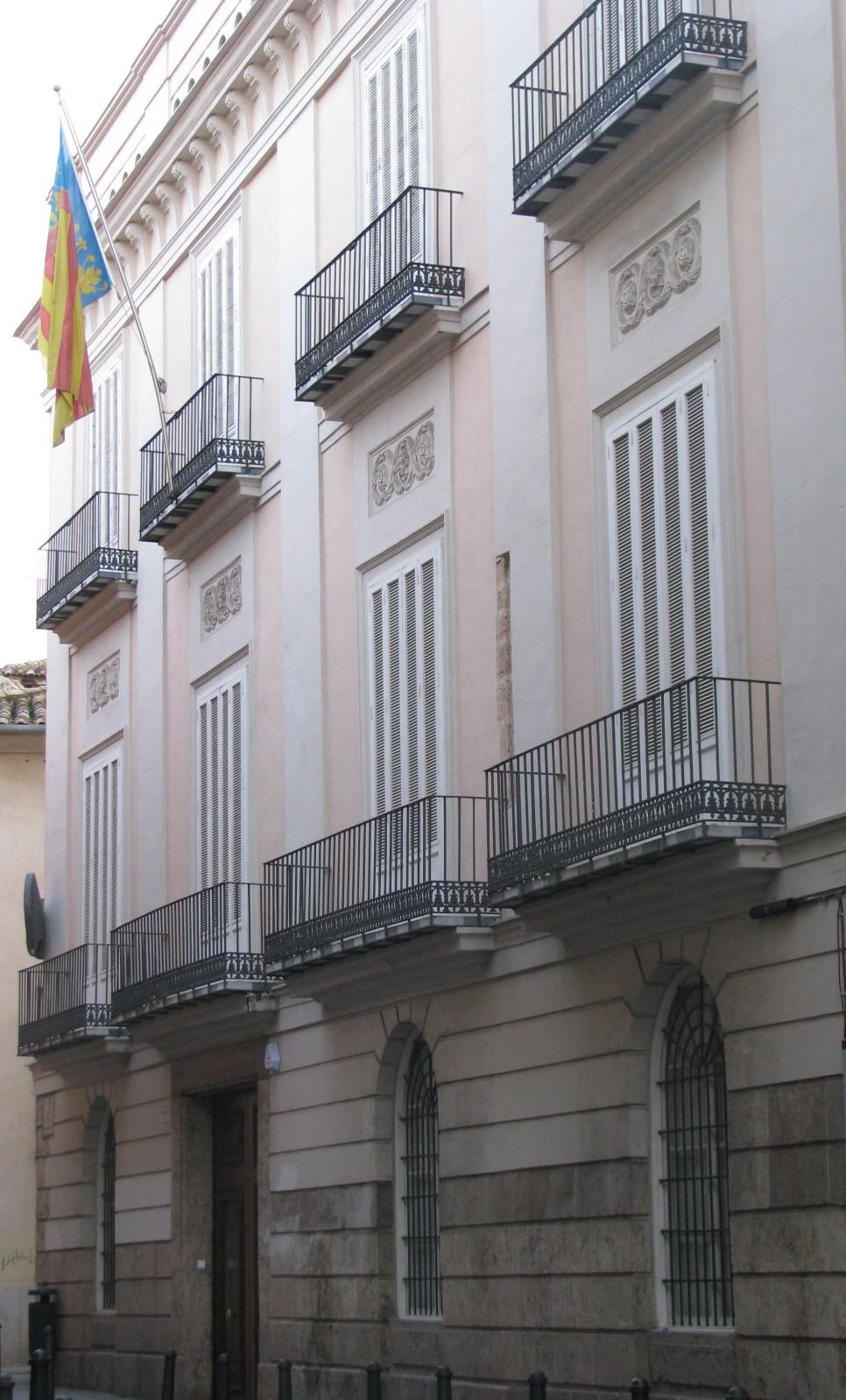 """Casa rosa ( tema """" Golfos"""" ) , continuación.. - Página 4 PalaciobaronesdeAlacuas"""