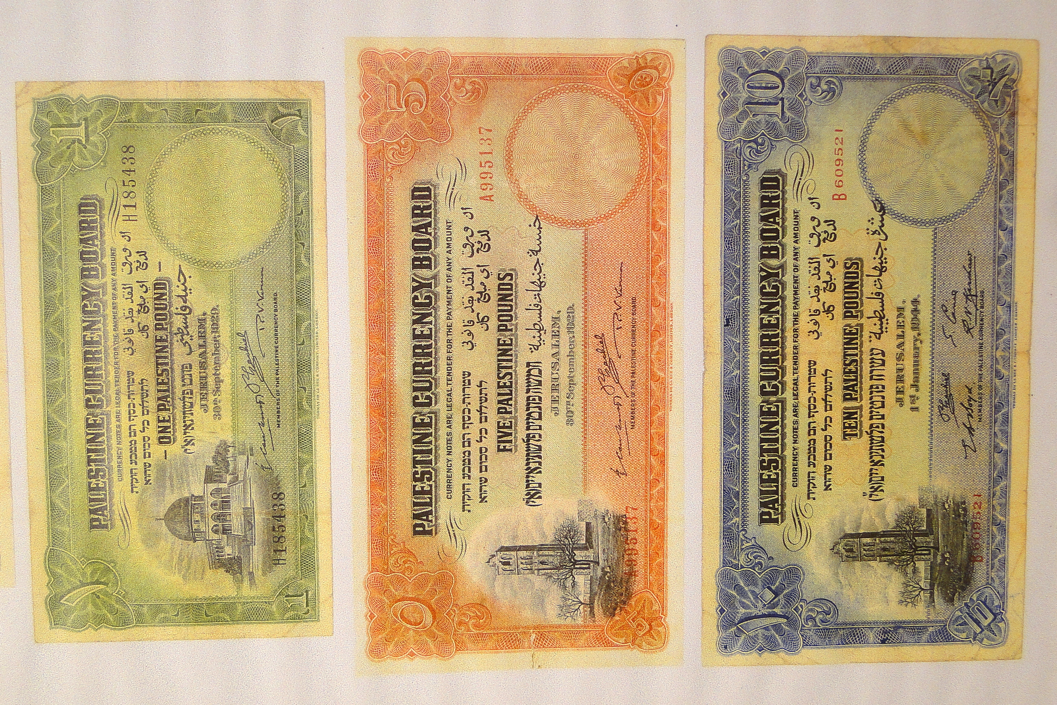 File:Palestine Currency from British Mandate Period - Treasures in ...