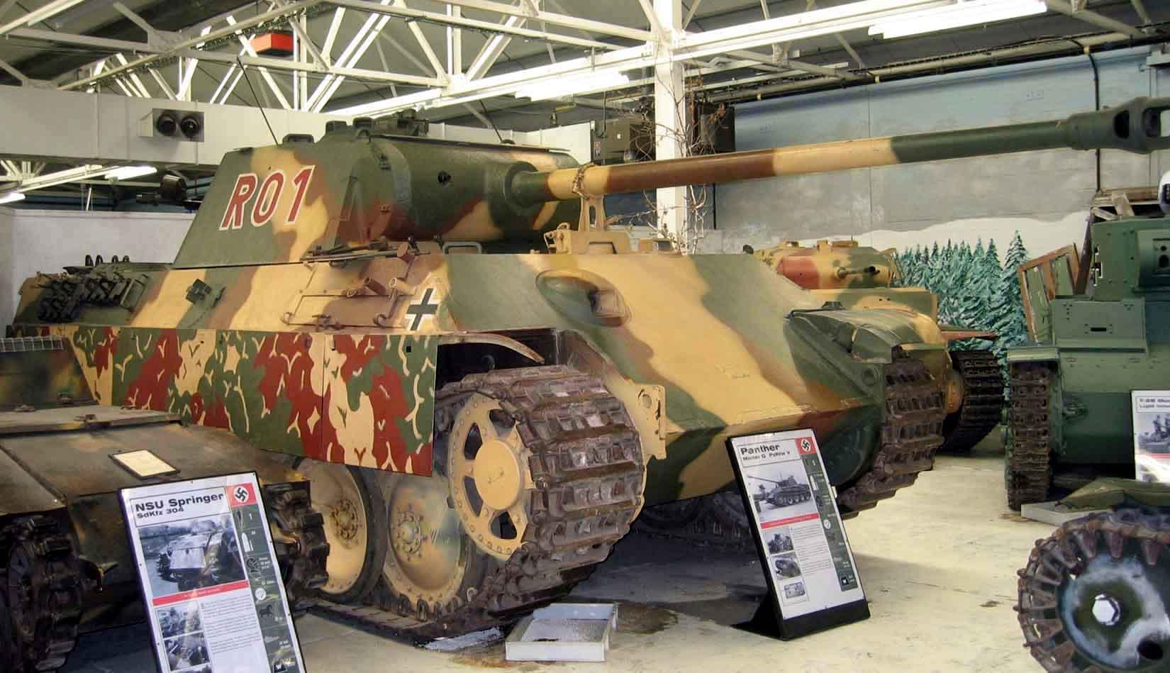 File Panther Tank Bovington Jpg Wikimedia Commons