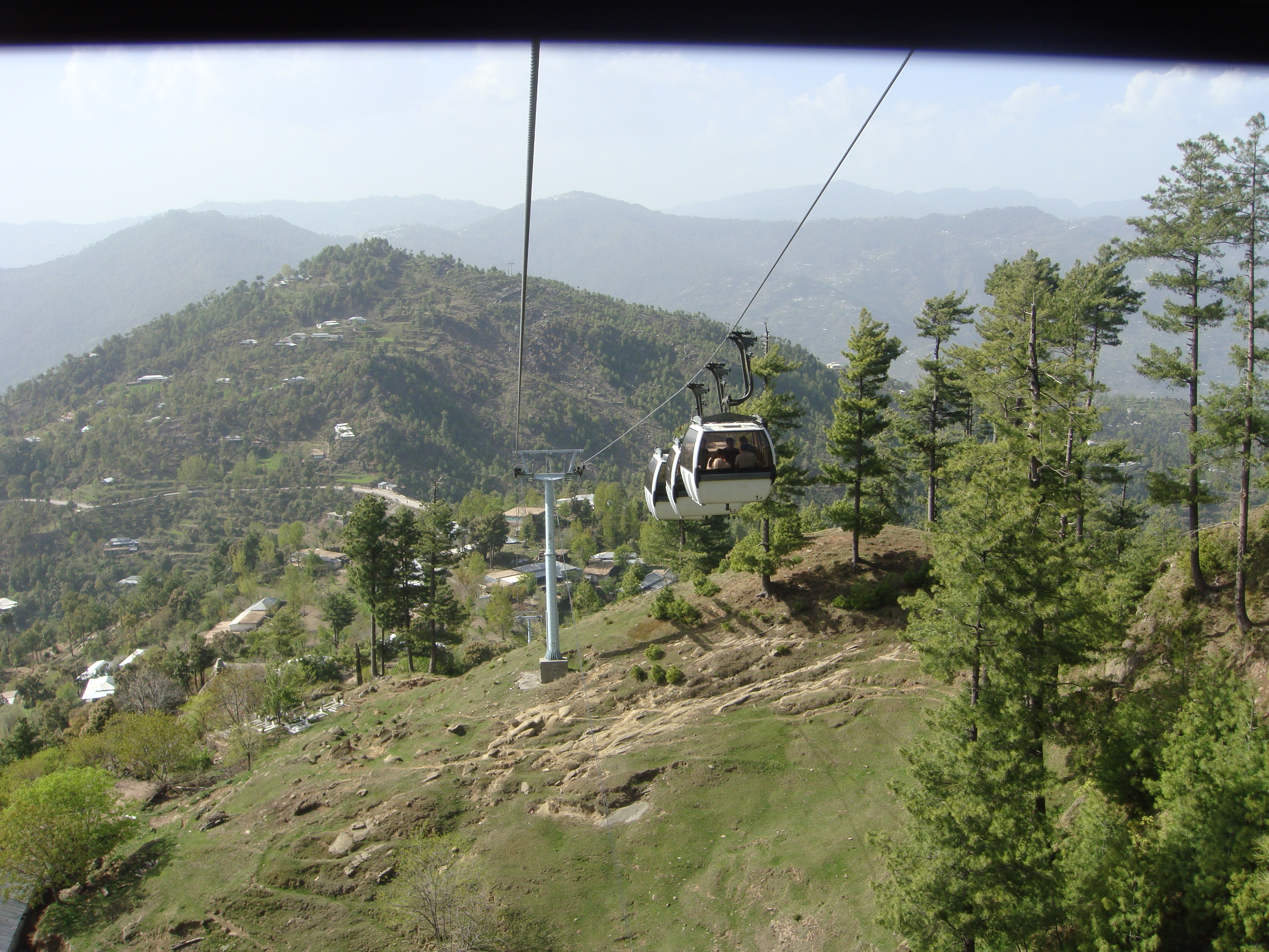 File:Patriata Murree View from Cable Car 2 jpg - Wikimedia Commons